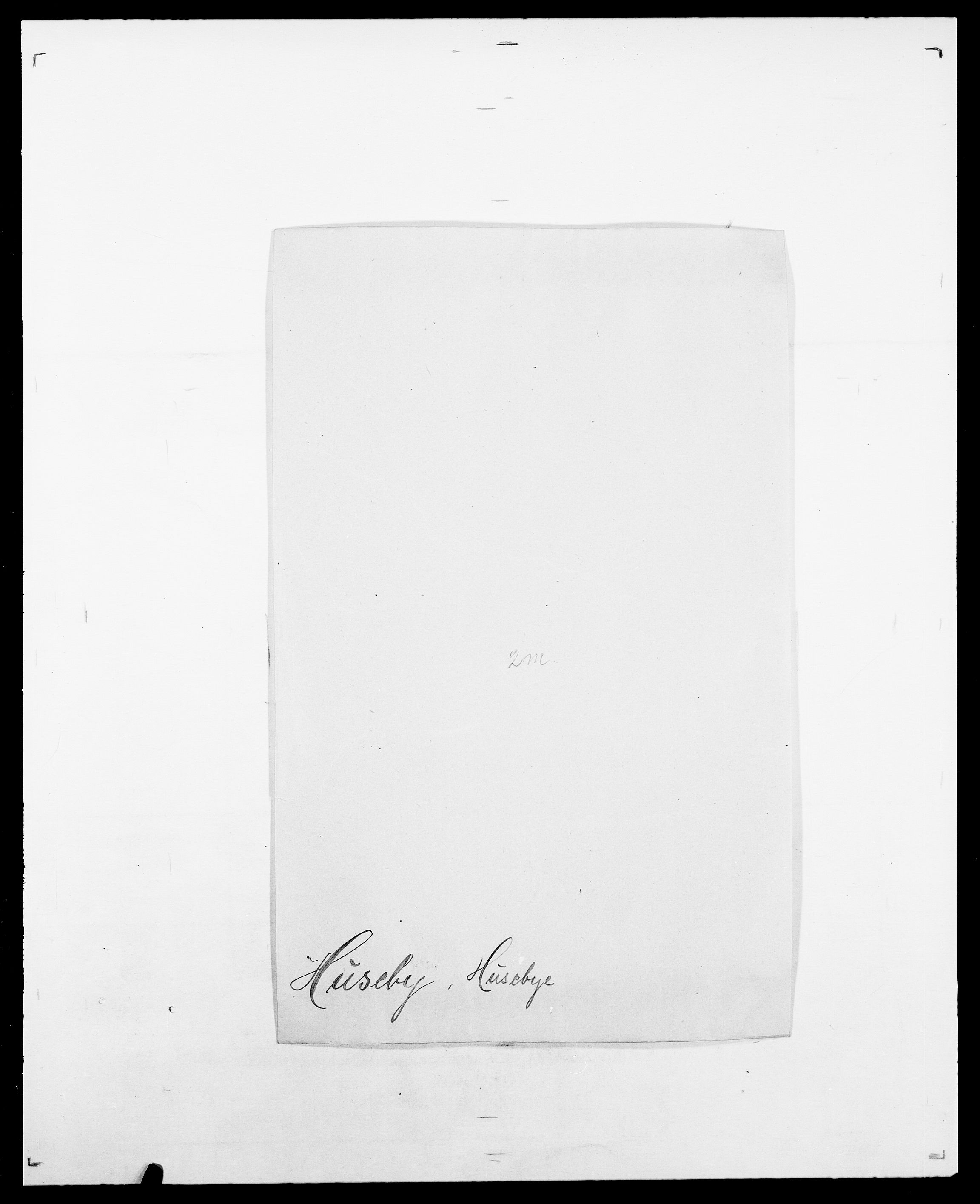 SAO, Delgobe, Charles Antoine - samling, D/Da/L0019: van der Hude - Joys, s. 78