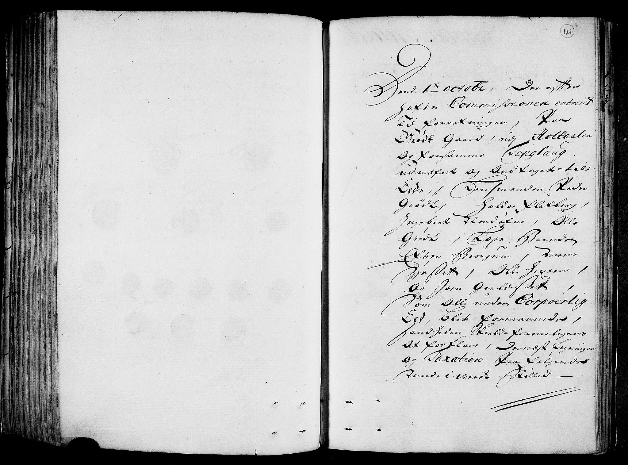 RA, Rentekammeret inntil 1814, Realistisk ordnet avdeling, N/Nb/Nbf/L0158: Gauldal eksaminasjonsprotokoll, 1723, s. 126b-127a