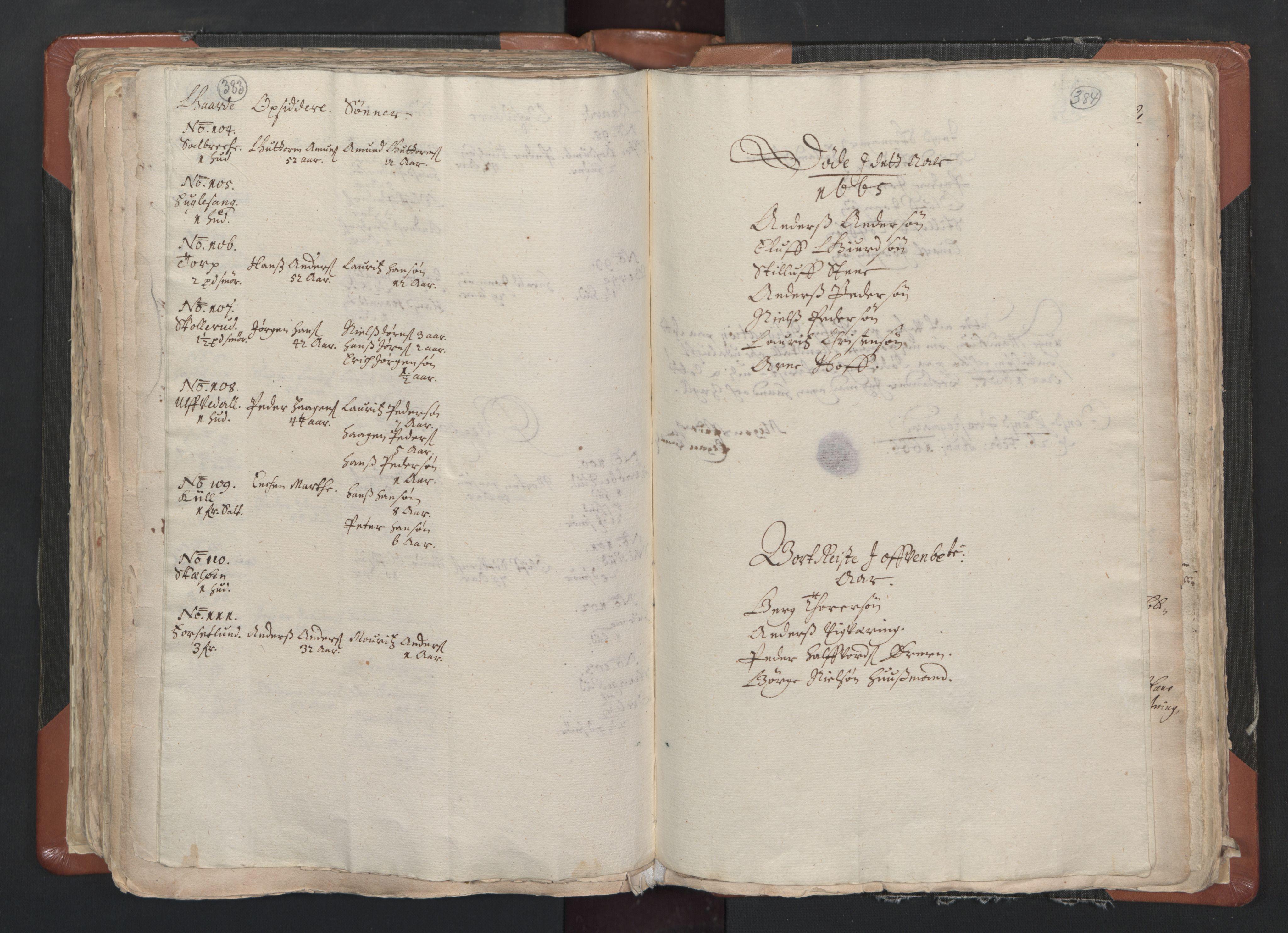 RA, Sogneprestenes manntall 1664-1666, nr. 1: Nedre Borgesyssel prosti, 1664-1666, s. 383-384