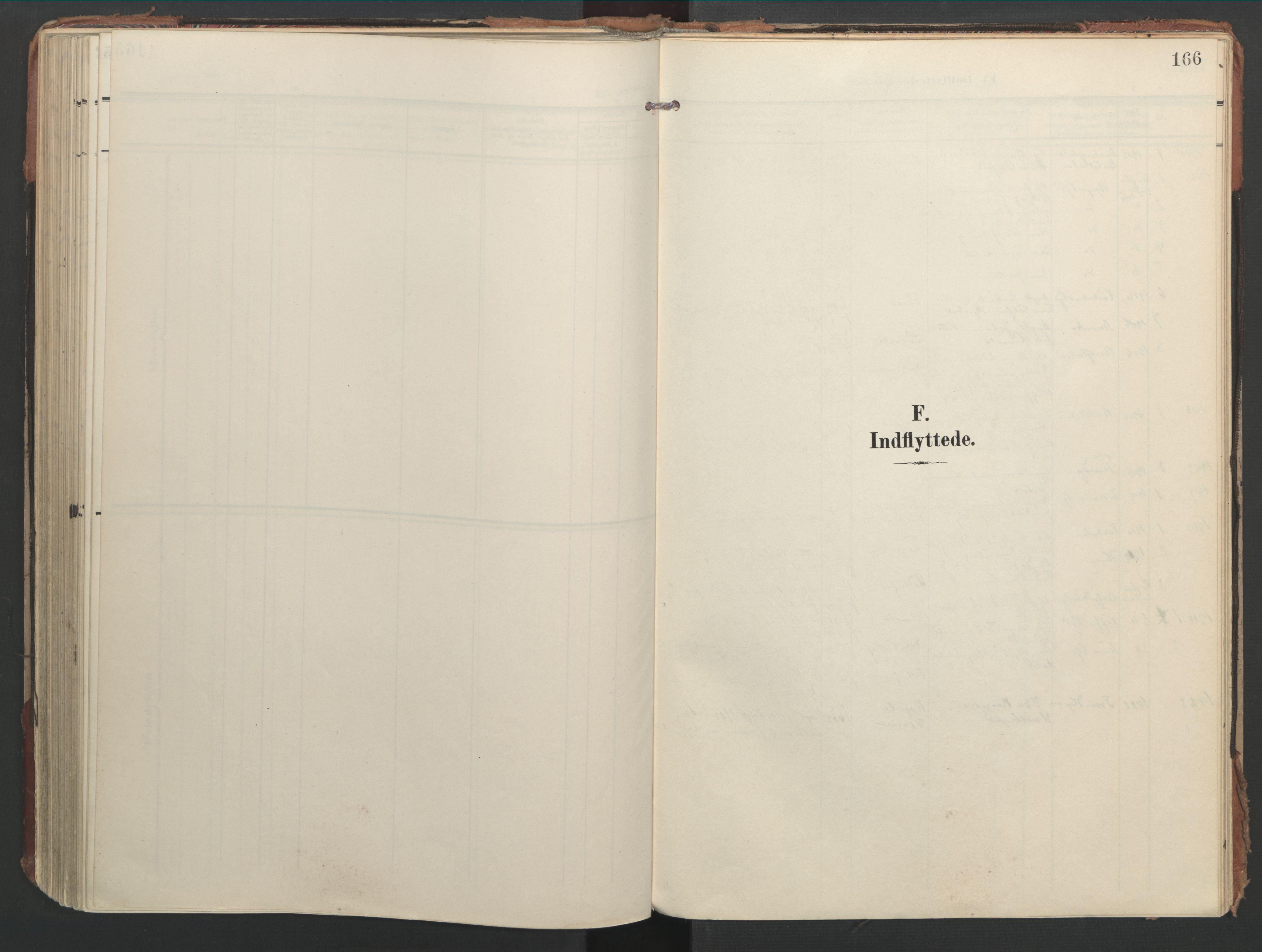 SAT, Ministerialprotokoller, klokkerbøker og fødselsregistre - Nord-Trøndelag, 744/L0421: Ministerialbok nr. 744A05, 1905-1930, s. 166