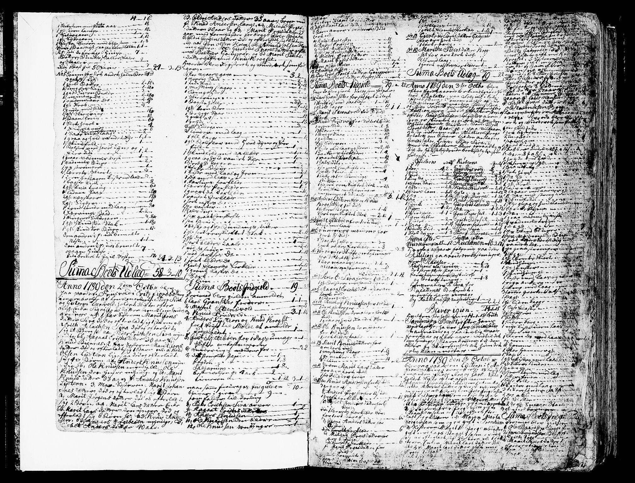 SAT, Romsdal sorenskriveri, 3/3A/L0012: Skifteprotokoll, 1789-1802, s. 1b-2a