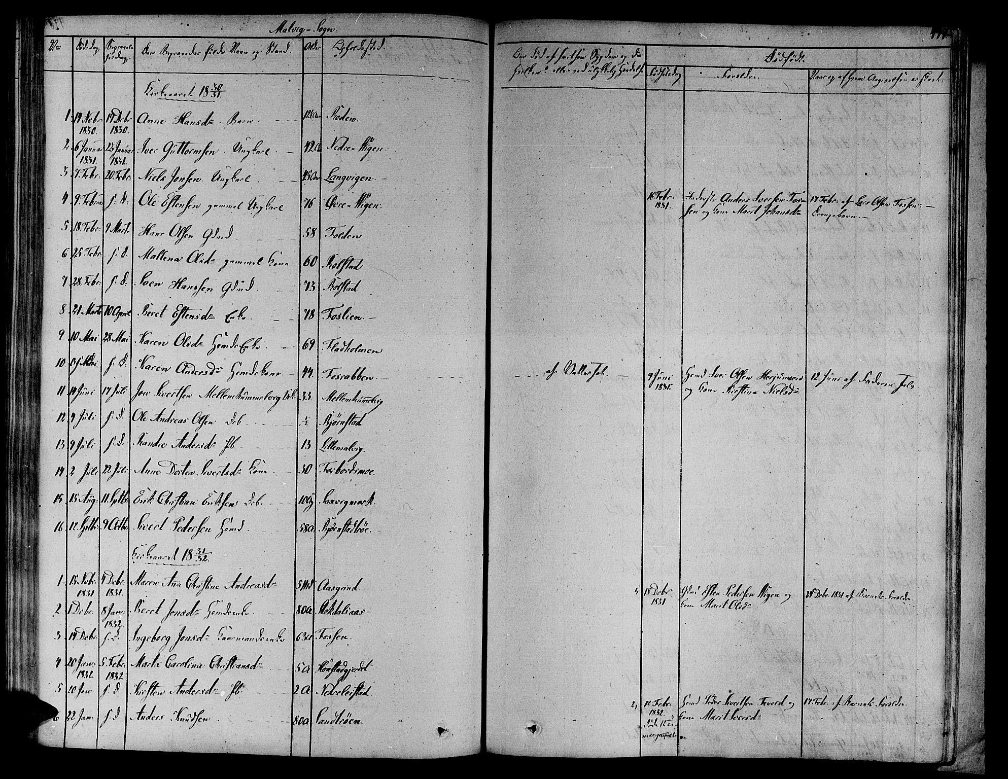 SAT, Ministerialprotokoller, klokkerbøker og fødselsregistre - Sør-Trøndelag, 606/L0288: Ministerialbok nr. 606A04 /3, 1826-1840, s. 497