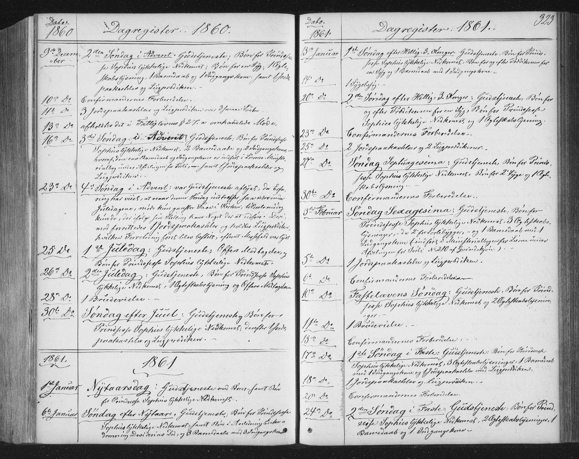 SAT, Ministerialprotokoller, klokkerbøker og fødselsregistre - Nord-Trøndelag, 749/L0472: Ministerialbok nr. 749A06, 1857-1873, s. 323