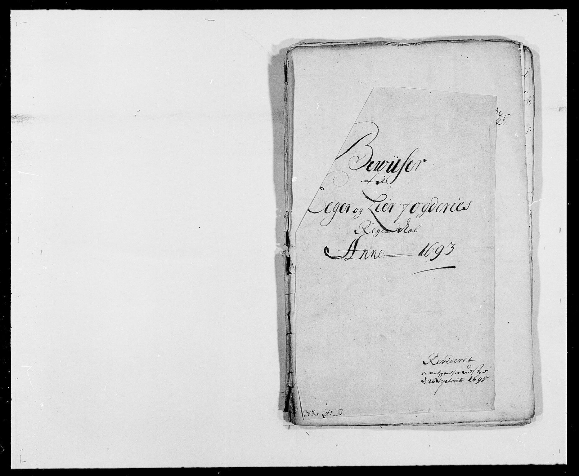 RA, Rentekammeret inntil 1814, Reviderte regnskaper, Fogderegnskap, R28/L1690: Fogderegnskap Eiker og Lier, 1692-1693, s. 223