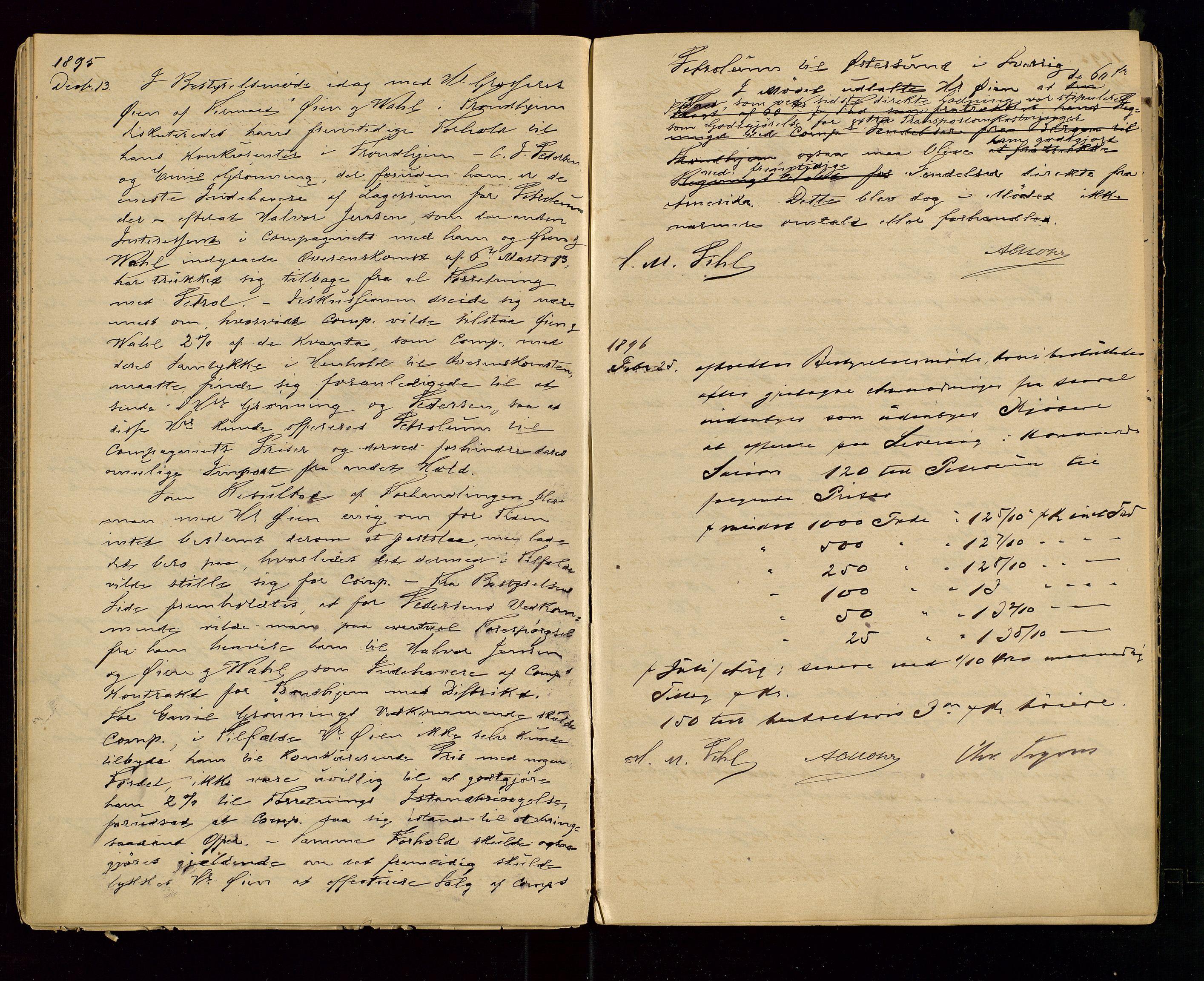 SAST, PA 1533 - A/S Vestlandske Petroleumscompani, A/Aa/L0001: Generalforsamlinger og styreprotokoller, 1890-1907, s. 24