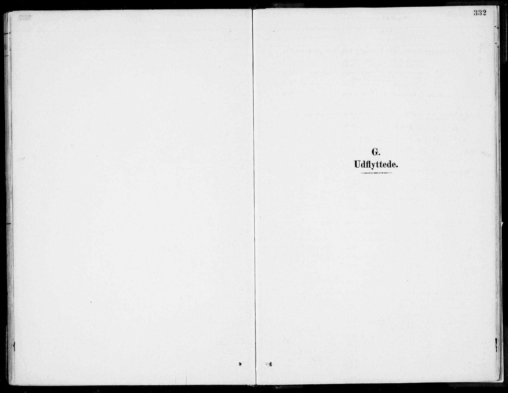 SAB, Kvinnherad Sokneprestembete, H/Haa: Ministerialbok nr. B  1, 1887-1921, s. 332