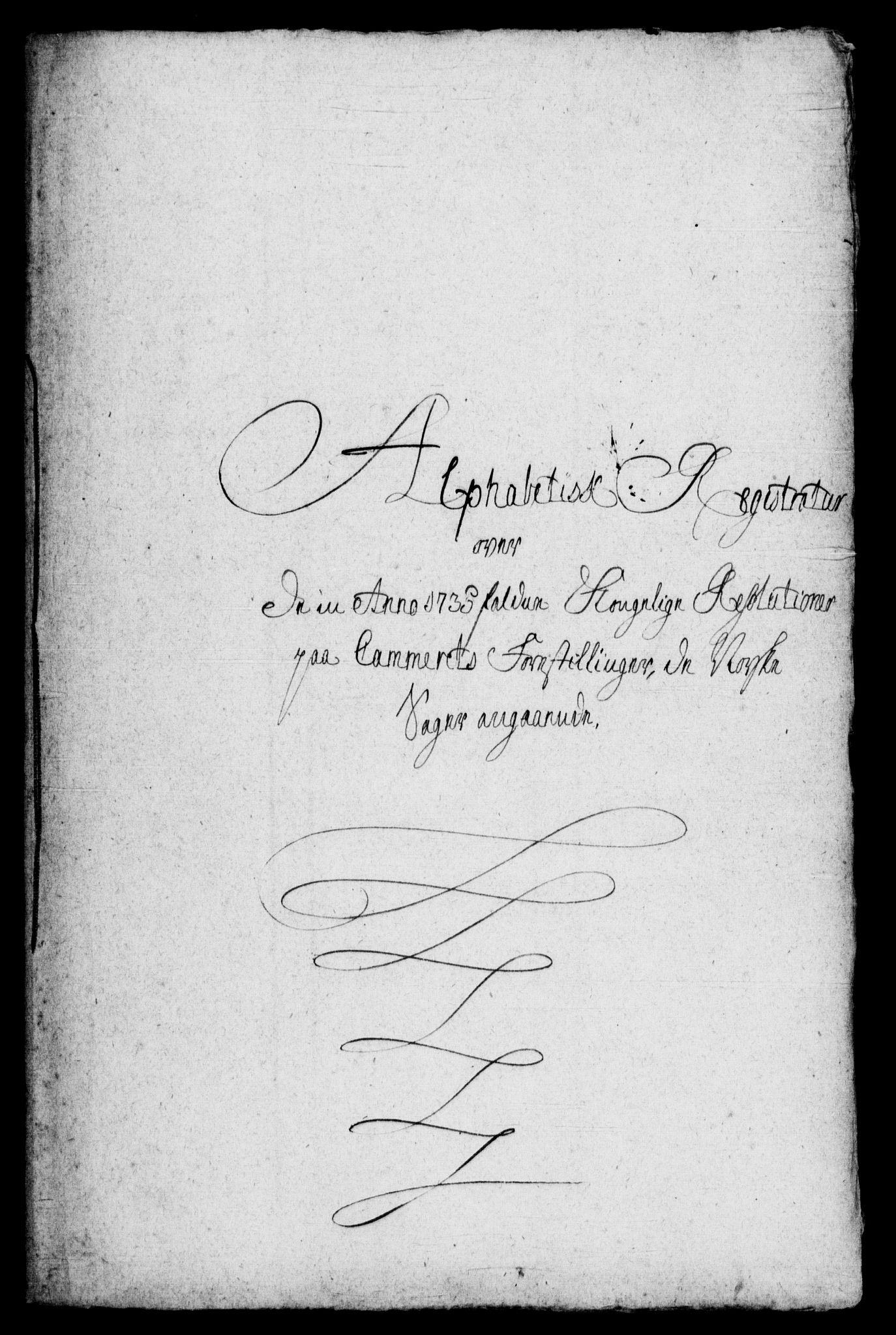 RA, Rentekammeret, Kammerkanselliet, G/Gf/Gfb/L0001: Register til norske relasjons- og resolusjonsprotokoller (merket RK 52.96), 1720-1749, s. 302