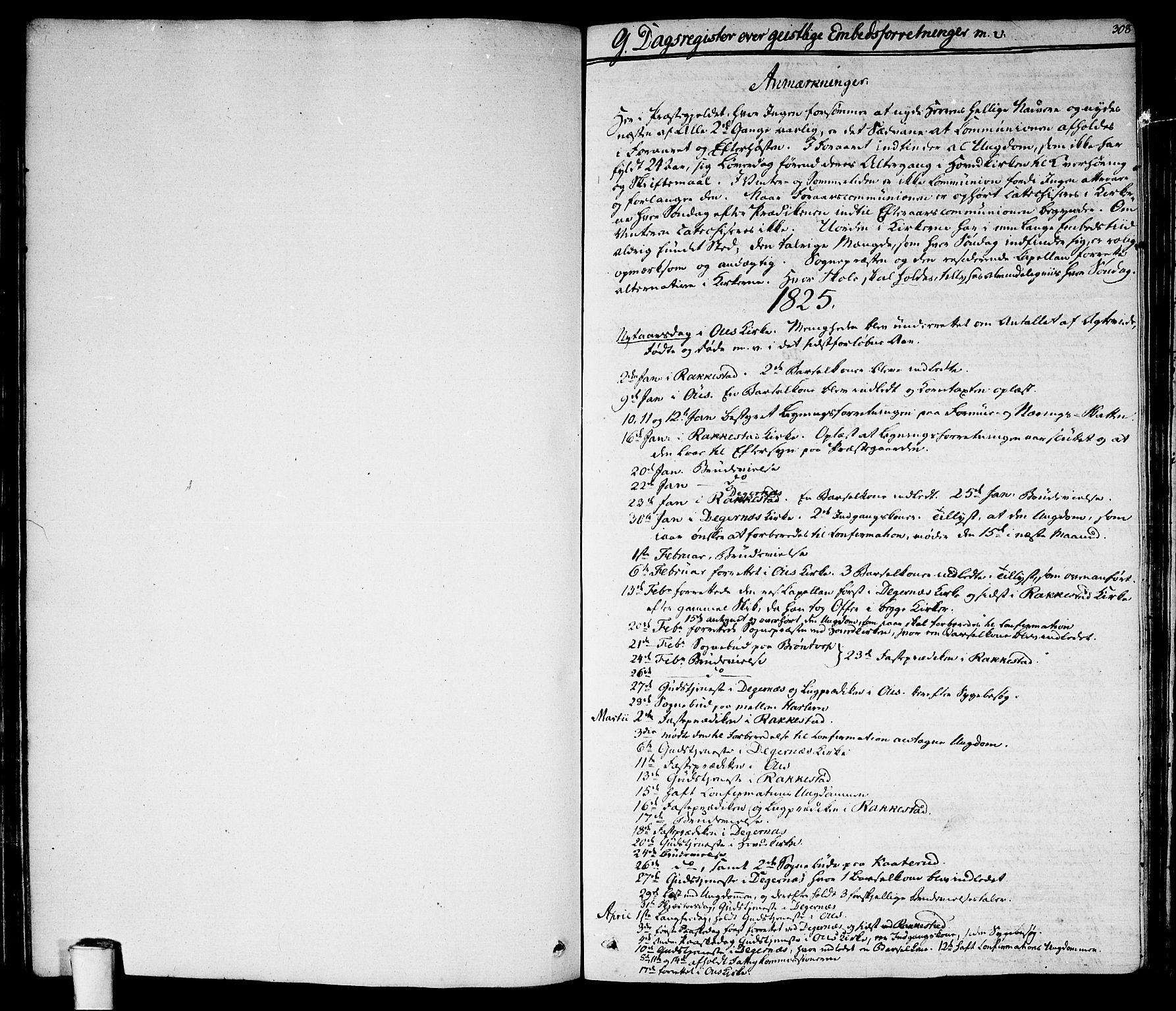 SAO, Rakkestad prestekontor Kirkebøker, F/Fa/L0007: Ministerialbok nr. I 7, 1825-1841, s. 308