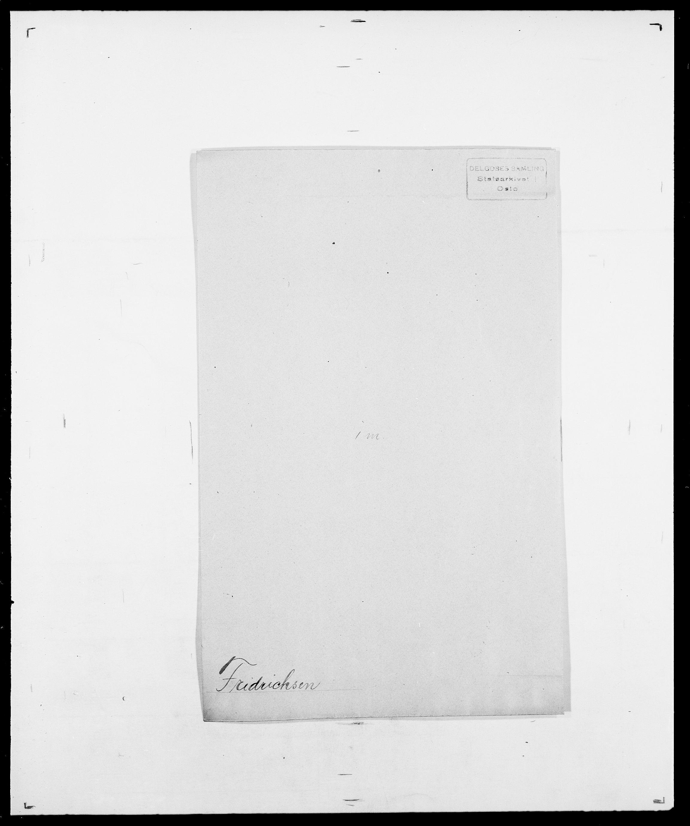 SAO, Delgobe, Charles Antoine - samling, D/Da/L0012: Flor, Floer, Flohr - Fritzner, s. 896