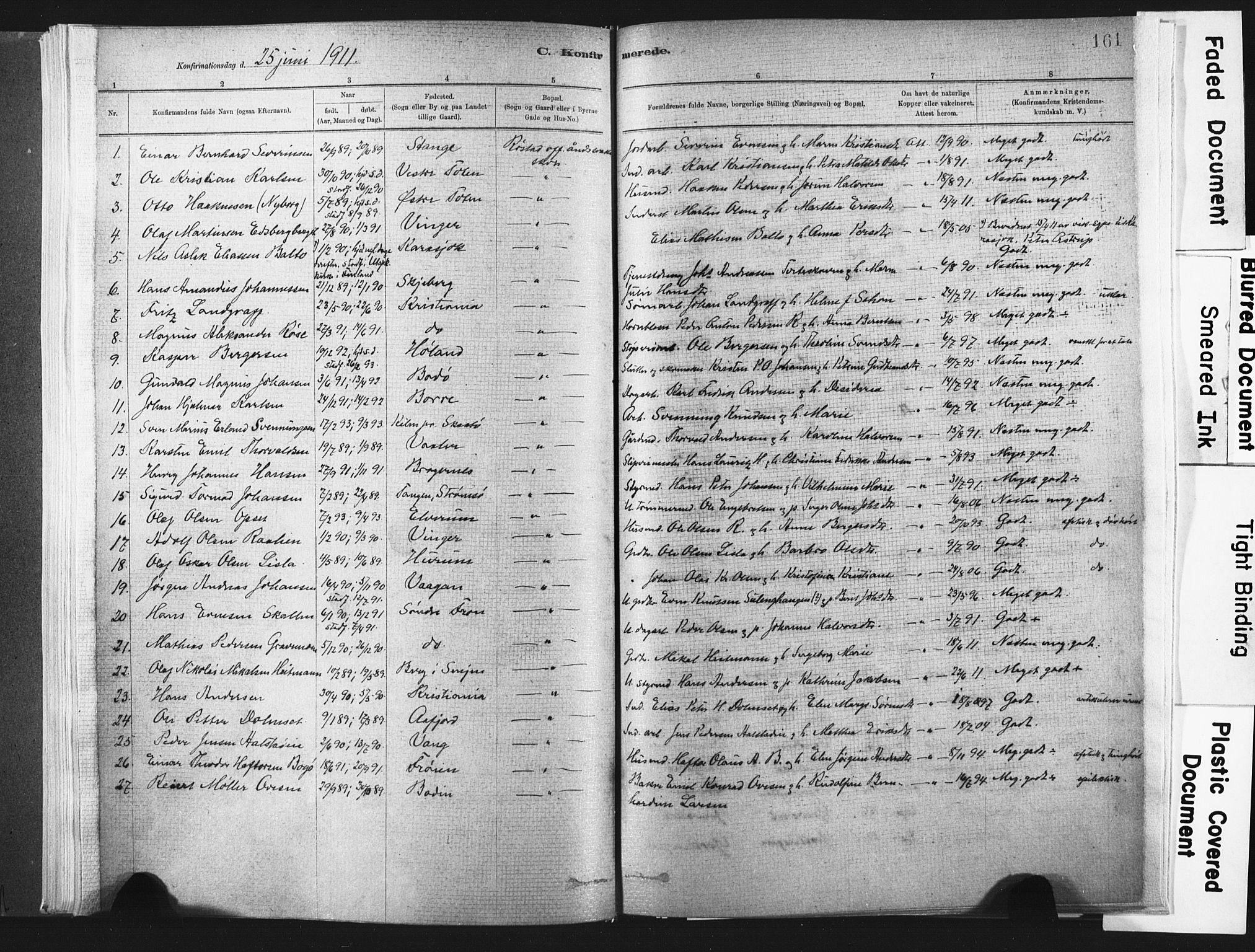 SAT, Ministerialprotokoller, klokkerbøker og fødselsregistre - Nord-Trøndelag, 721/L0207: Ministerialbok nr. 721A02, 1880-1911, s. 161