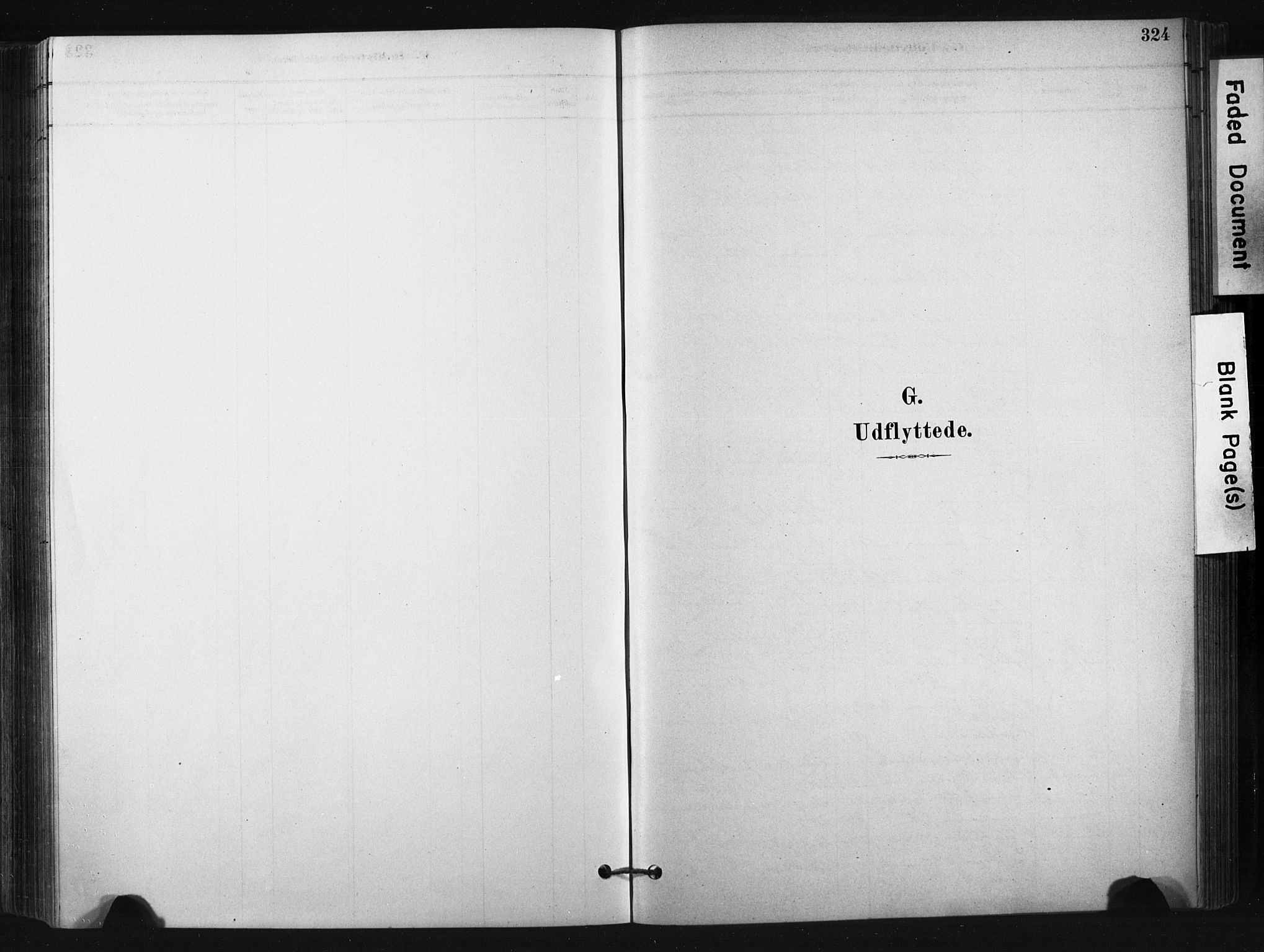 SAKO, Bø kirkebøker, F/Fa/L0010: Ministerialbok nr. 10, 1880-1892, s. 324