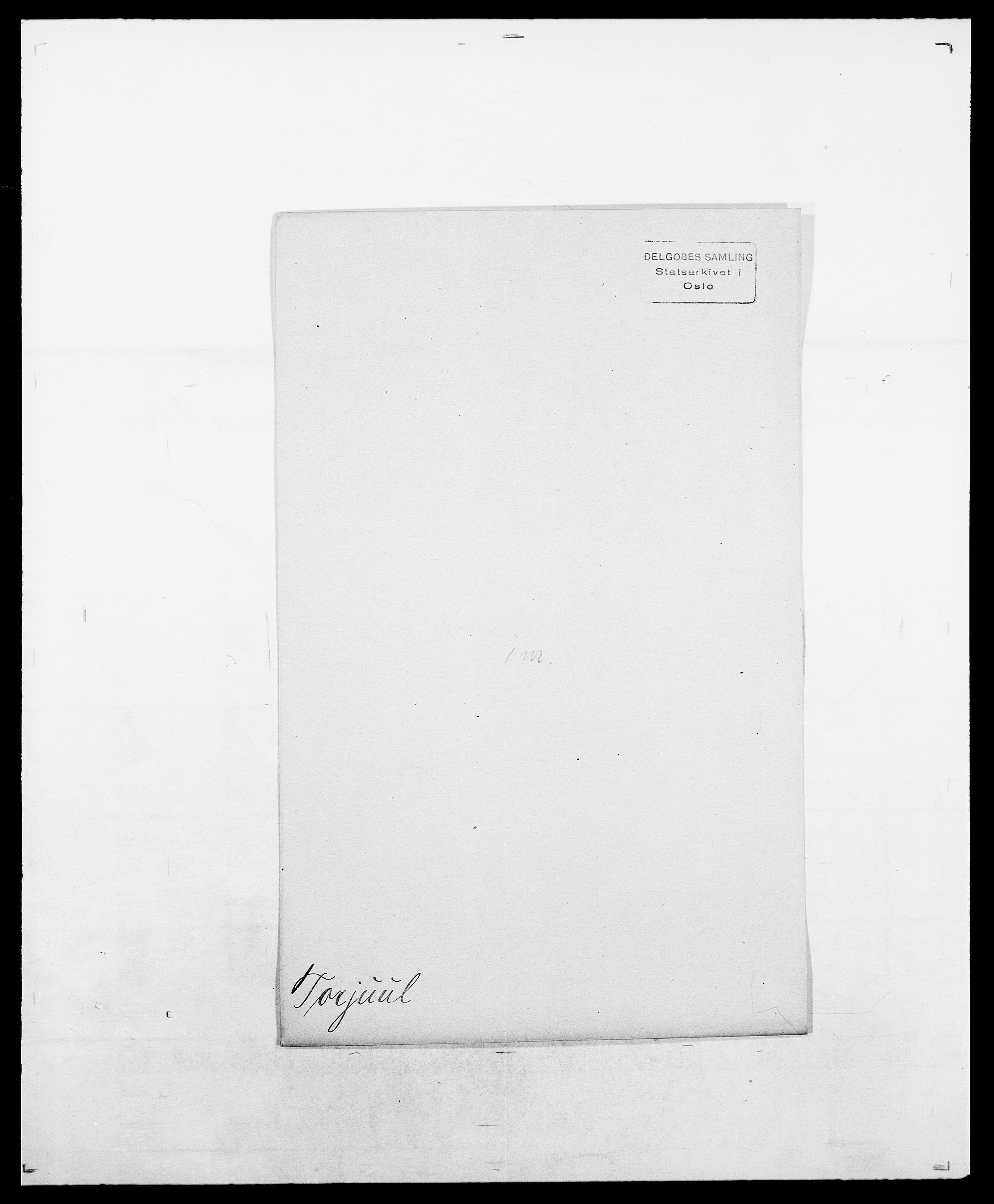 SAO, Delgobe, Charles Antoine - samling, D/Da/L0039: Thorsen - Urup, s. 174