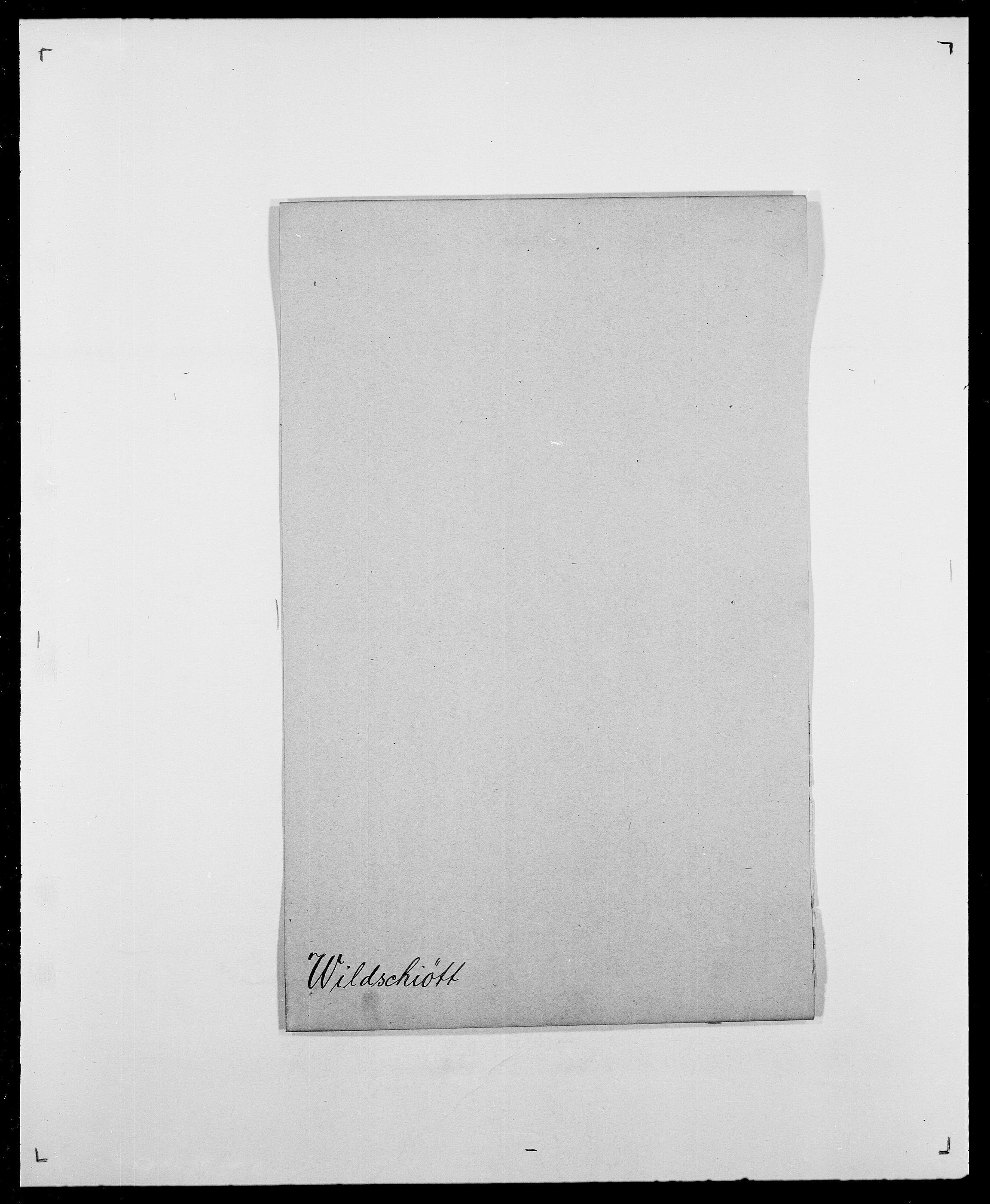 SAO, Delgobe, Charles Antoine - samling, D/Da/L0042: Vilain - Wulf, Wulff, se også Wolf, s. 30