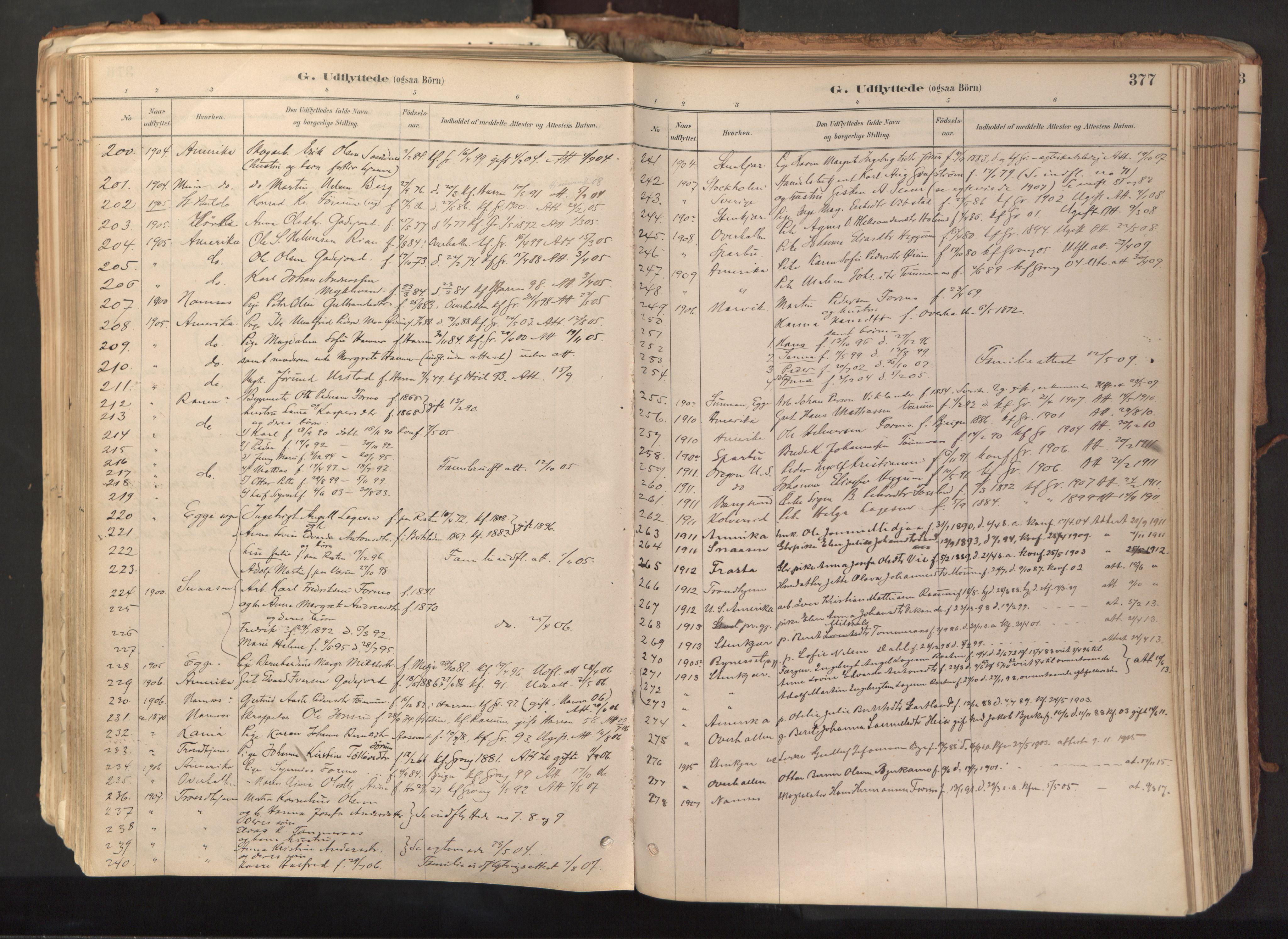 SAT, Ministerialprotokoller, klokkerbøker og fødselsregistre - Nord-Trøndelag, 758/L0519: Ministerialbok nr. 758A04, 1880-1926, s. 377