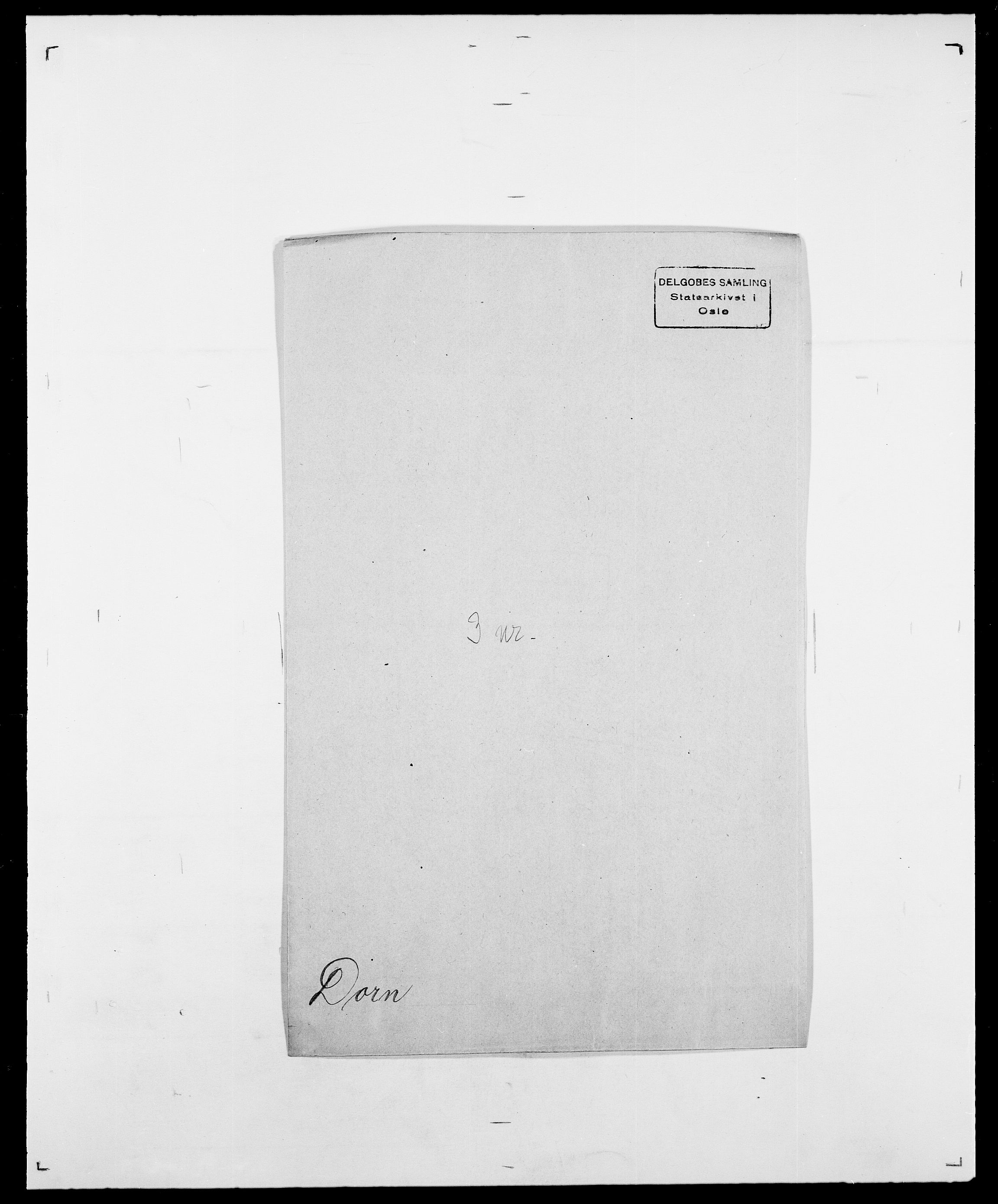 SAO, Delgobe, Charles Antoine - samling, D/Da/L0009: Dahl - v. Düren, s. 693
