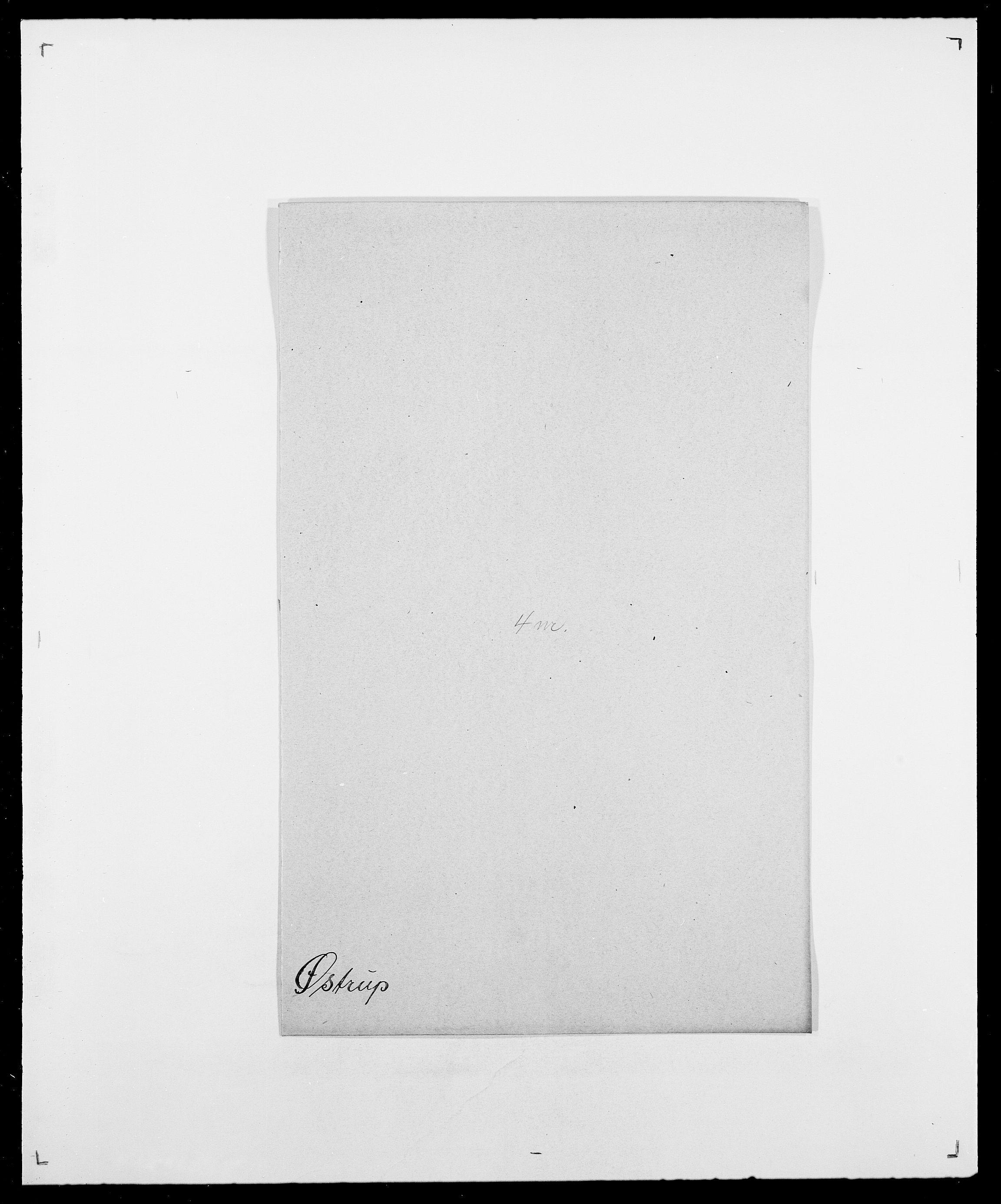 SAO, Delgobe, Charles Antoine - samling, D/Da/L0043: Wulfsberg - v. Zanten, s. 368