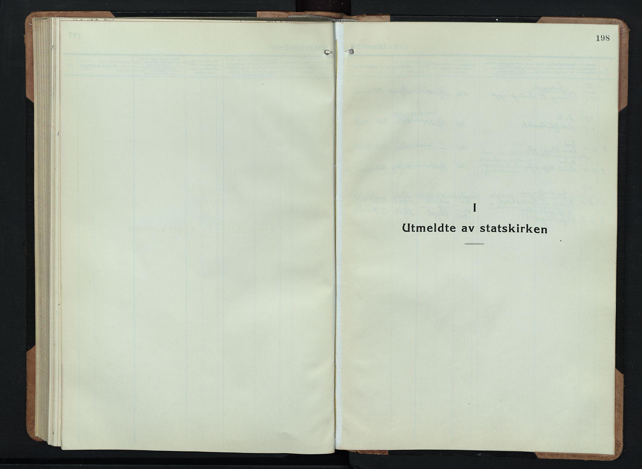 SAH, Skjåk prestekontor, Klokkerbok nr. 6, 1933-1954, s. 198