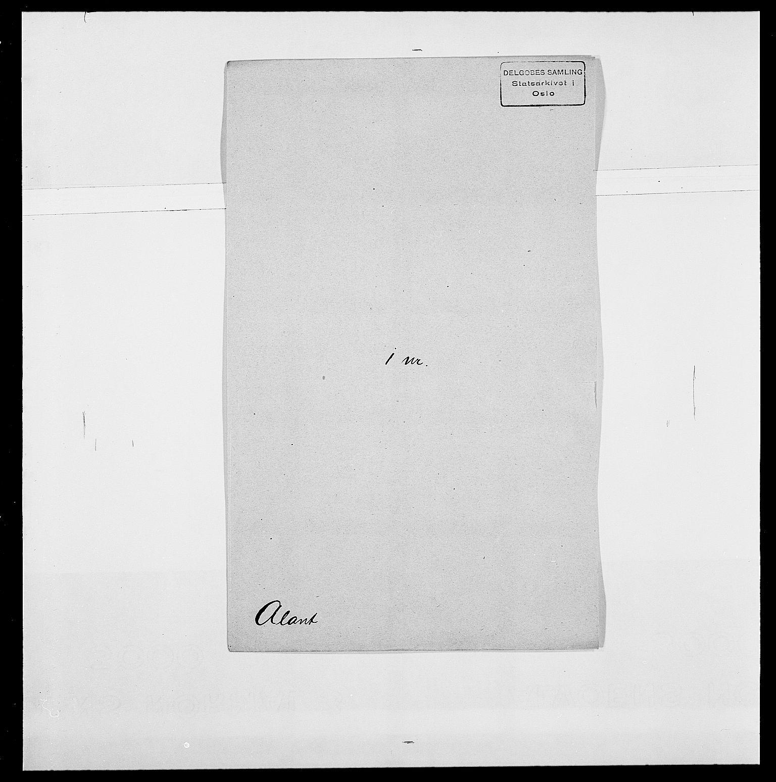 SAO, Delgobe, Charles Antoine - samling, D/Da/L0001: Aabye - Angerman, s. 356