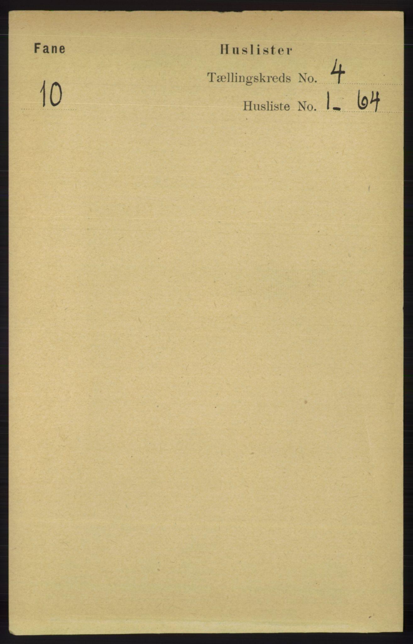 RA, Folketelling 1891 for 1249 Fana herred, 1891, s. 1527