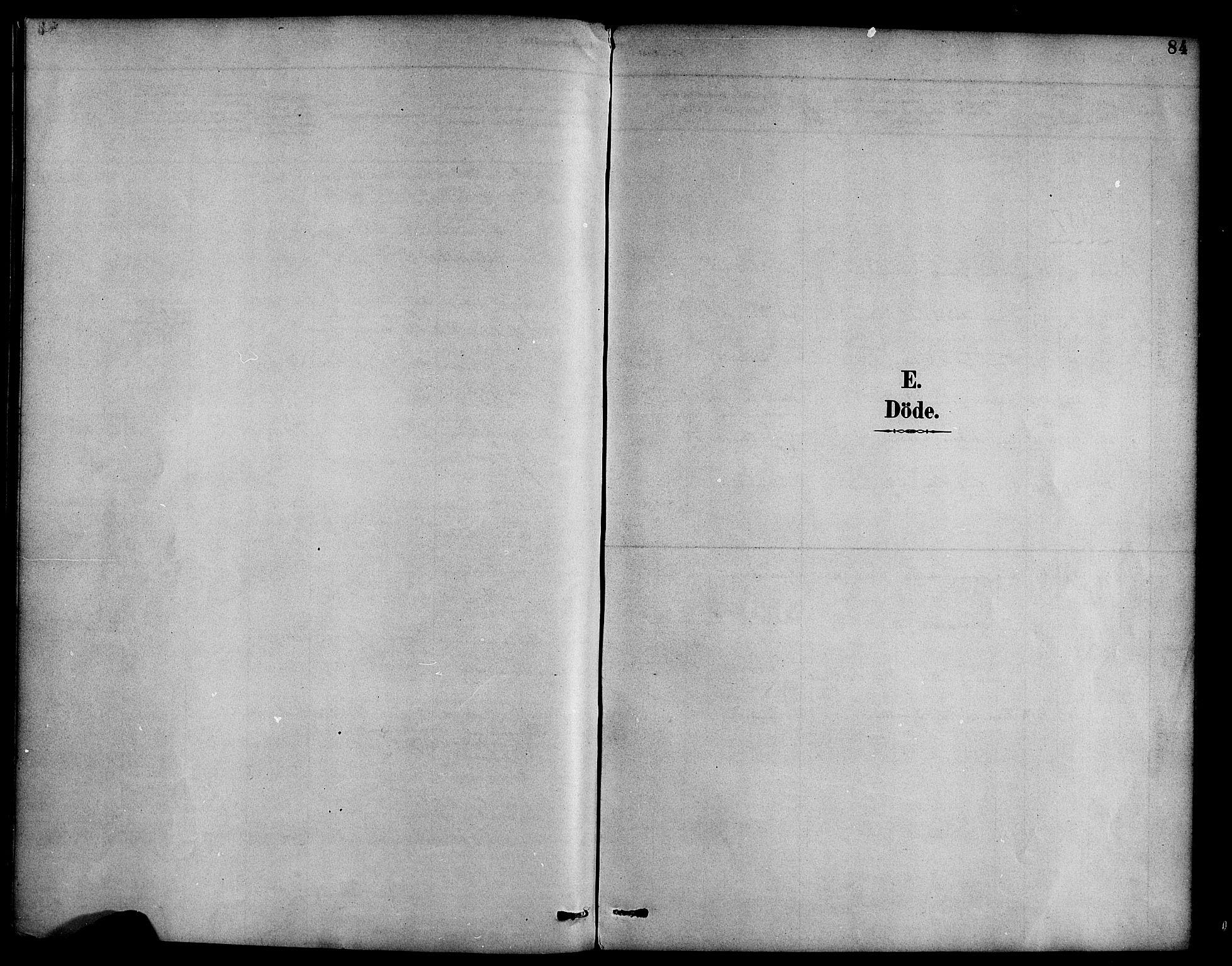SAB, Hyllestad Sokneprestembete, Ministerialbok nr. B 1, 1886-1904, s. 84