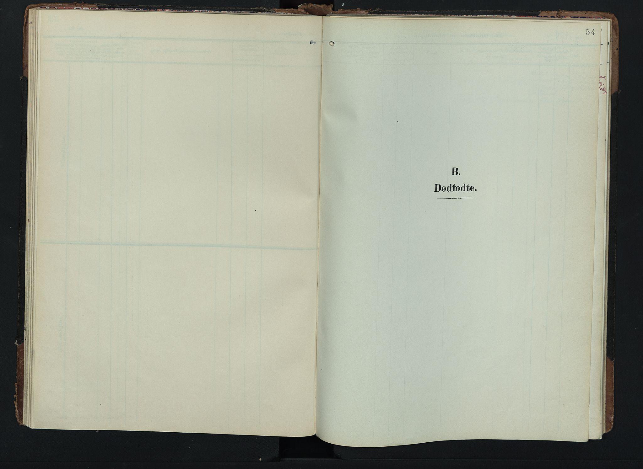 SAH, Lom prestekontor, K/L0012: Ministerialbok nr. 12, 1904-1928, s. 54