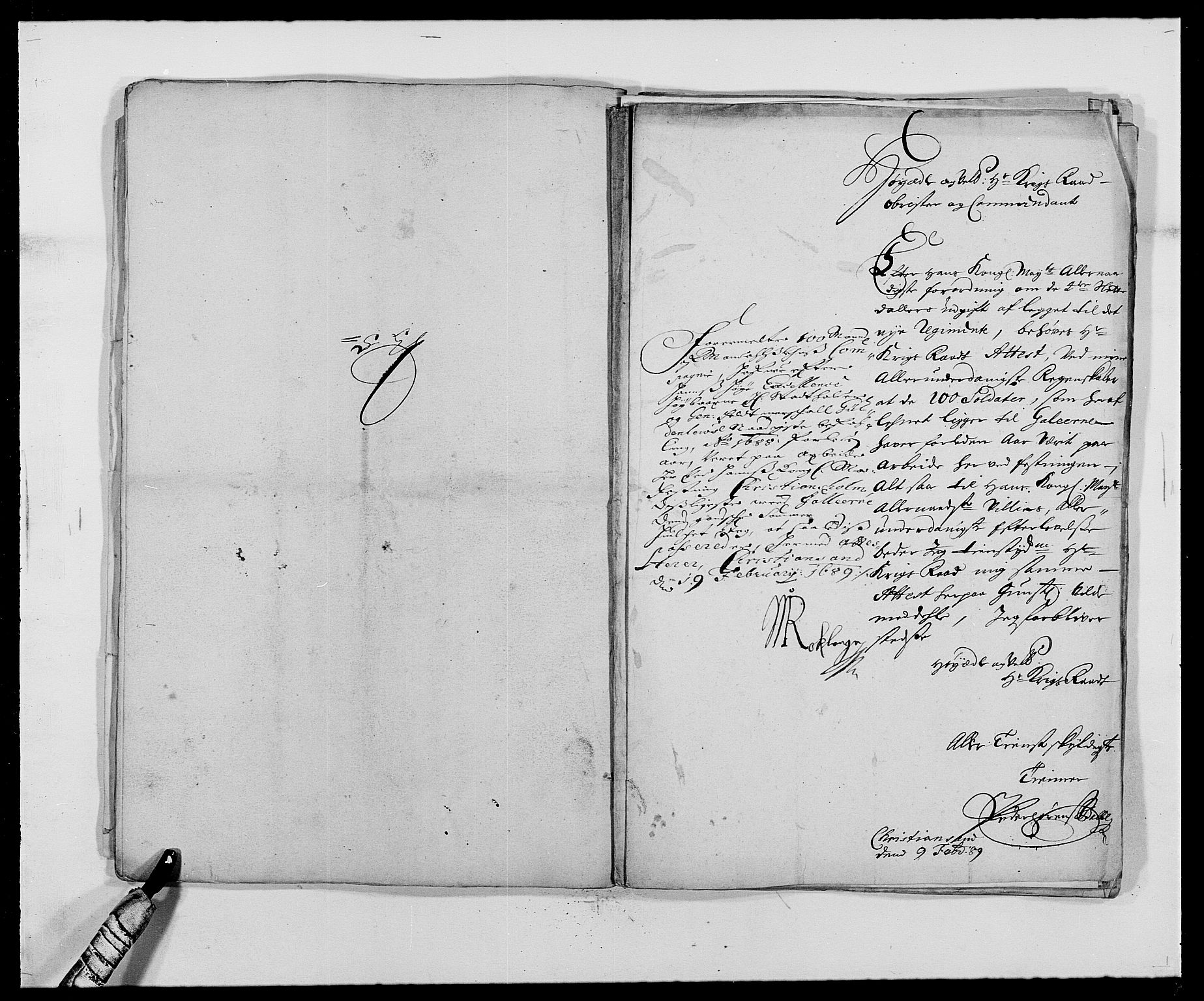 RA, Rentekammeret inntil 1814, Reviderte regnskaper, Fogderegnskap, R42/L2543: Mandal fogderi, 1688-1691, s. 285