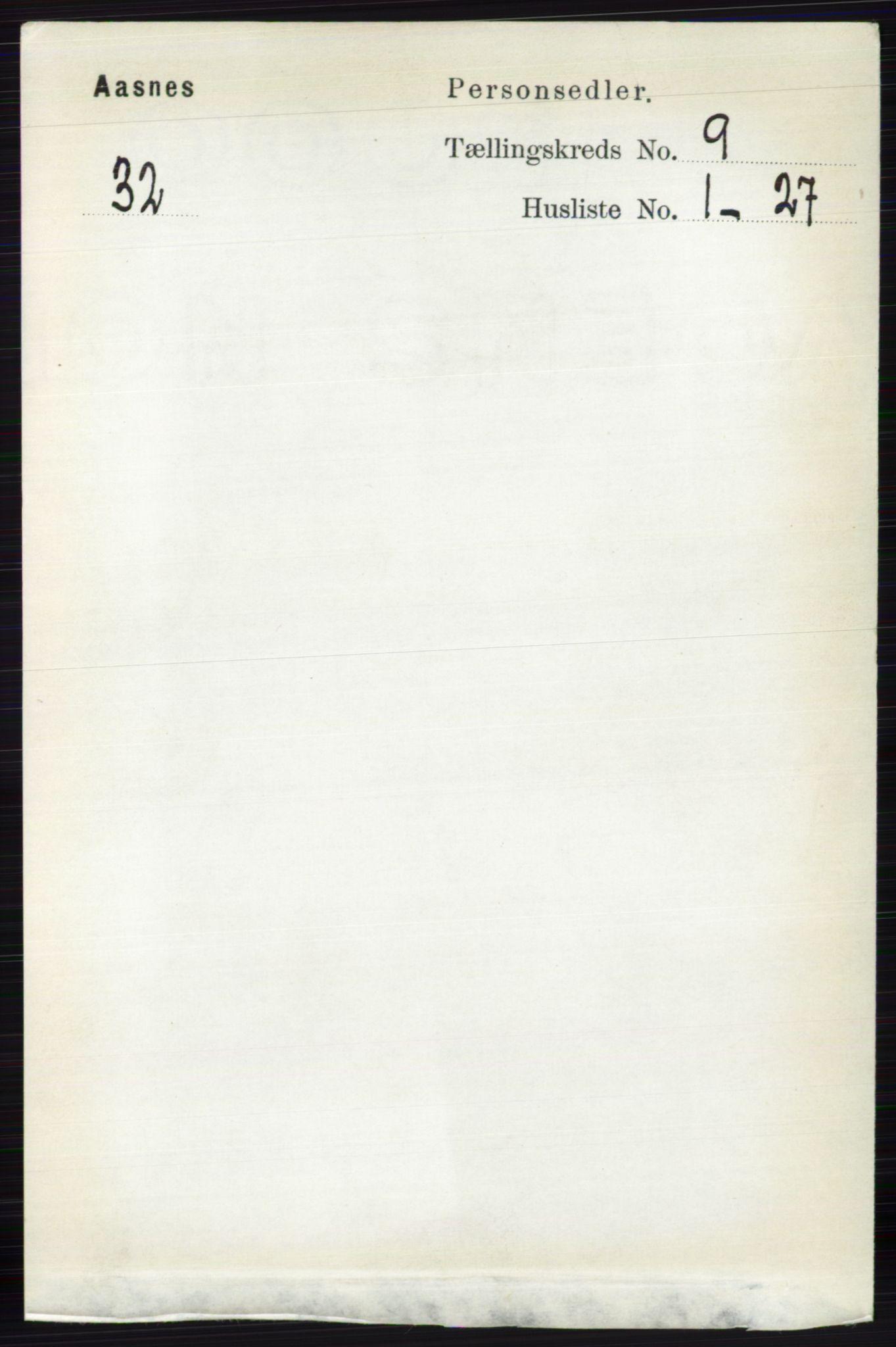 RA, Folketelling 1891 for 0425 Åsnes herred, 1891, s. 4615