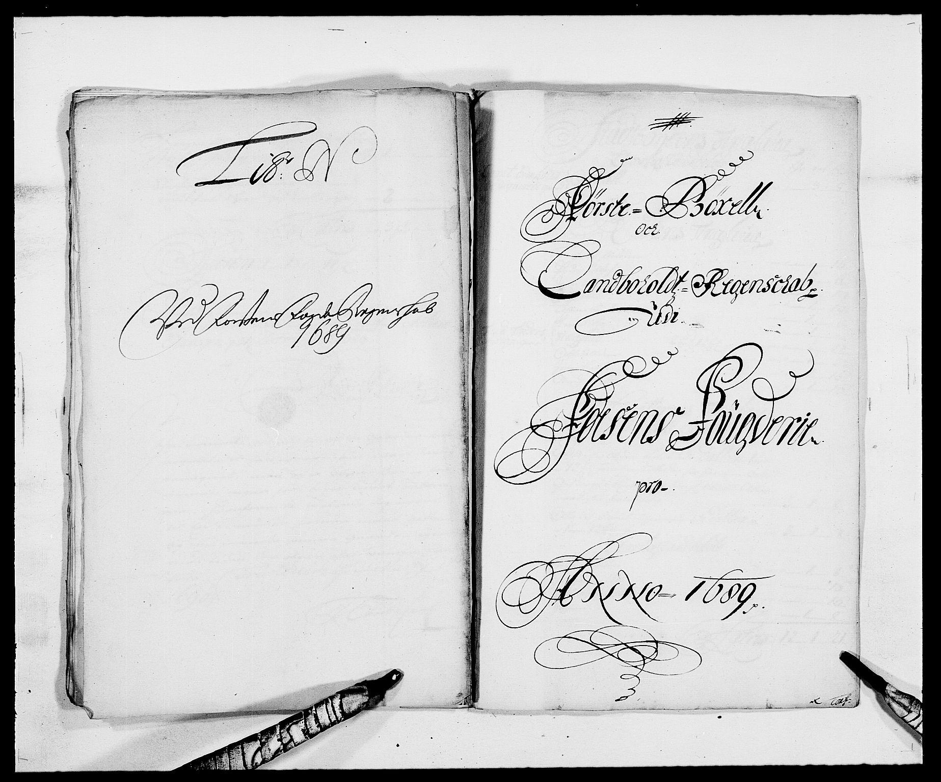 RA, Rentekammeret inntil 1814, Reviderte regnskaper, Fogderegnskap, R57/L3847: Fogderegnskap Fosen, 1689, s. 117
