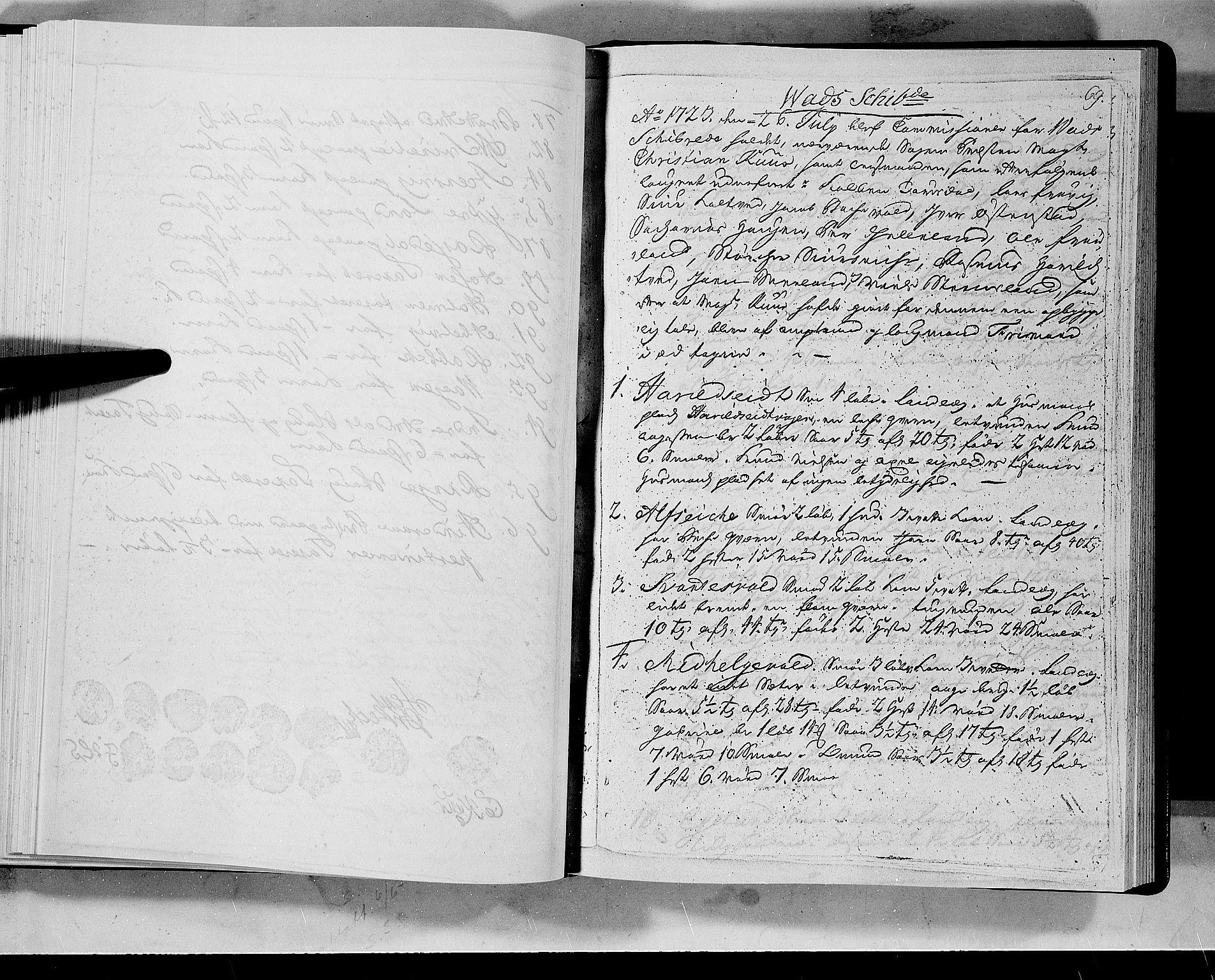 RA, Rentekammeret inntil 1814, Realistisk ordnet avdeling, N/Nb/Nbf/L0133a: Ryfylke eksaminasjonsprotokoll, 1723, s. 69a