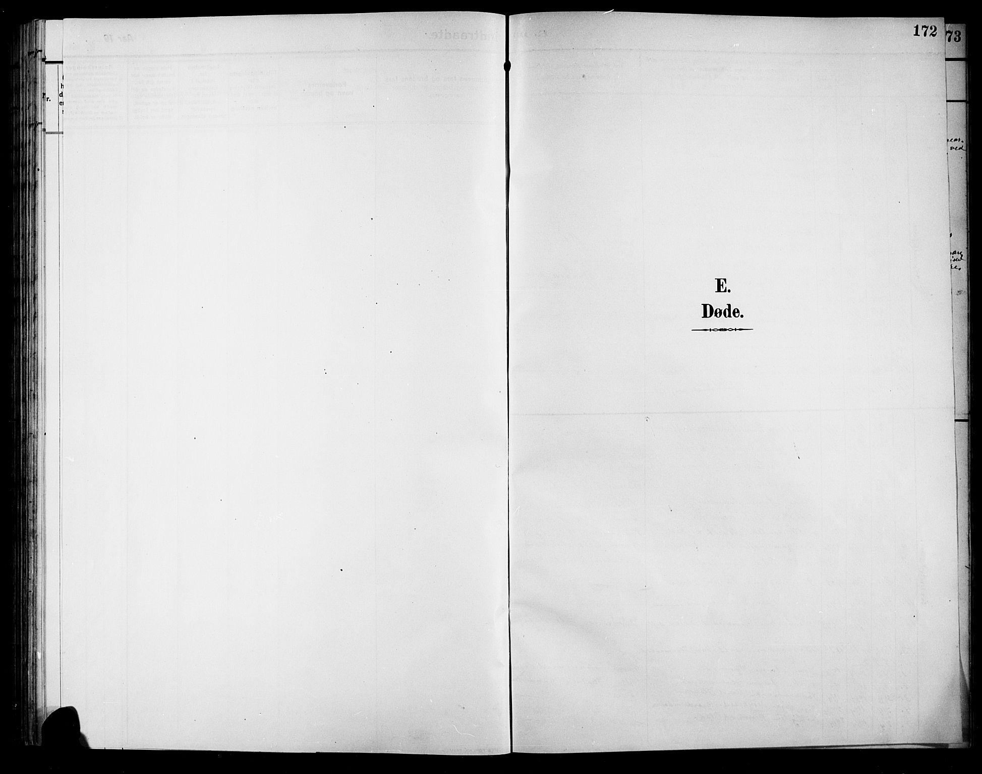 SAH, Sør-Aurdal prestekontor, Klokkerbok nr. 9, 1894-1924, s. 172