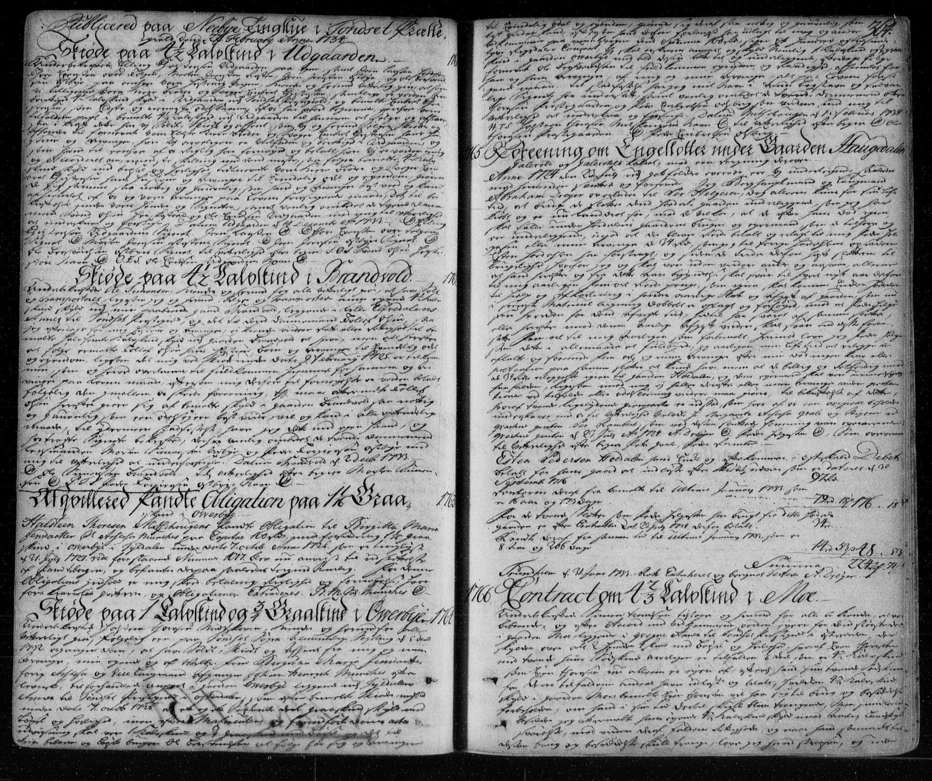 SAH, Solør og Østerdalen sorenskriveri, H/Hb/Hba/L0002: Pantebok nr. 2, 1716-1736, s. 364