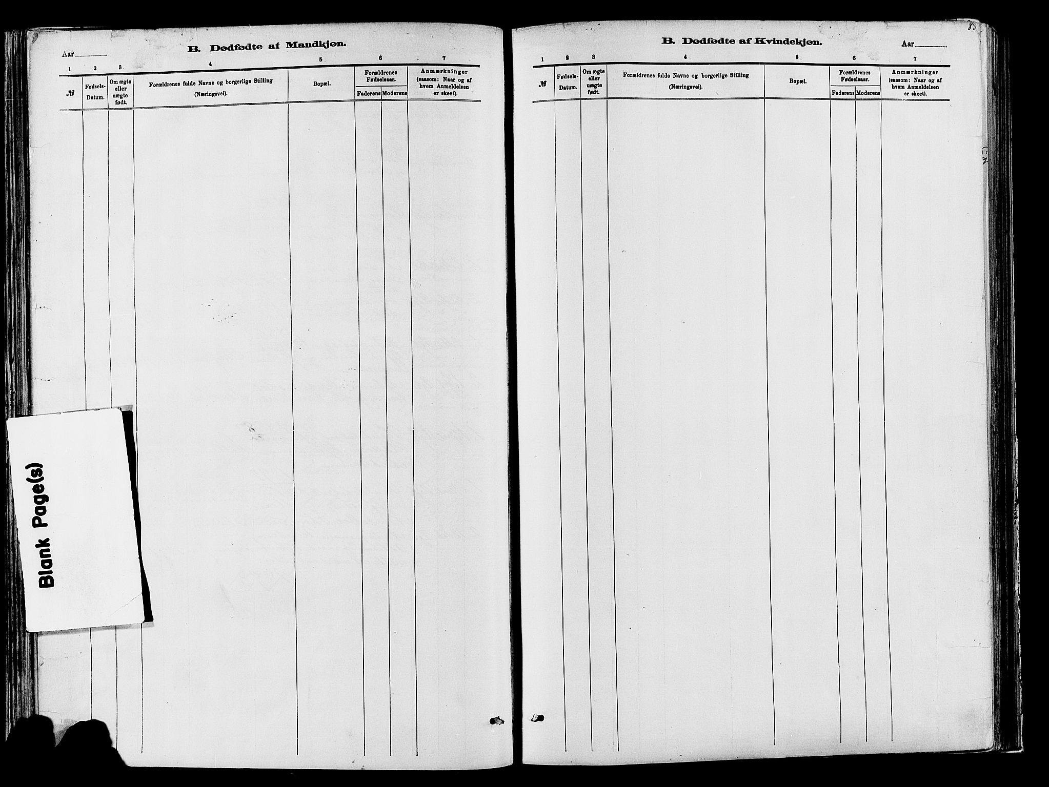 SAH, Vardal prestekontor, H/Ha/Haa/L0009: Ministerialbok nr. 9, 1878-1892, s. 83