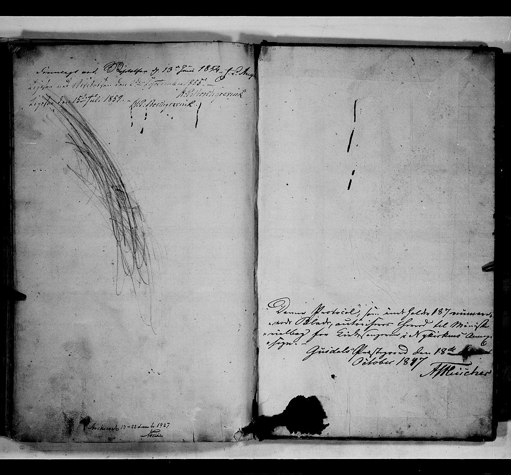 SAH, Gausdal prestekontor, Klokkerbok nr. 5, 1846-1867