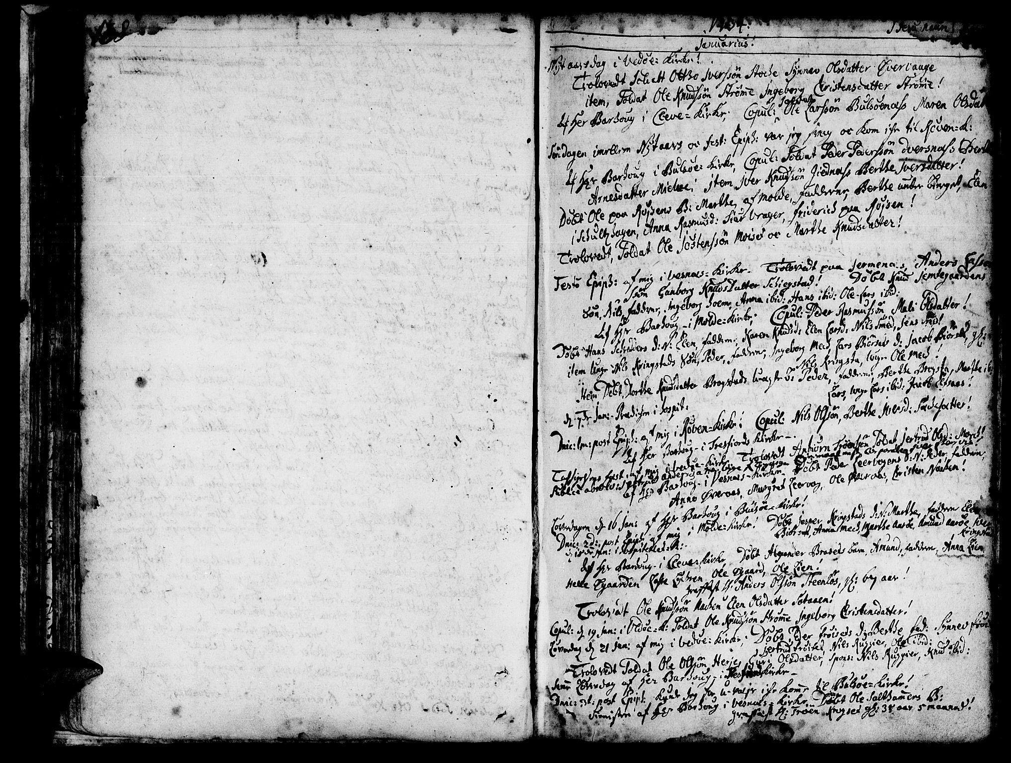 SAT, Ministerialprotokoller, klokkerbøker og fødselsregistre - Møre og Romsdal, 547/L0599: Ministerialbok nr. 547A01, 1721-1764, s. 140-141
