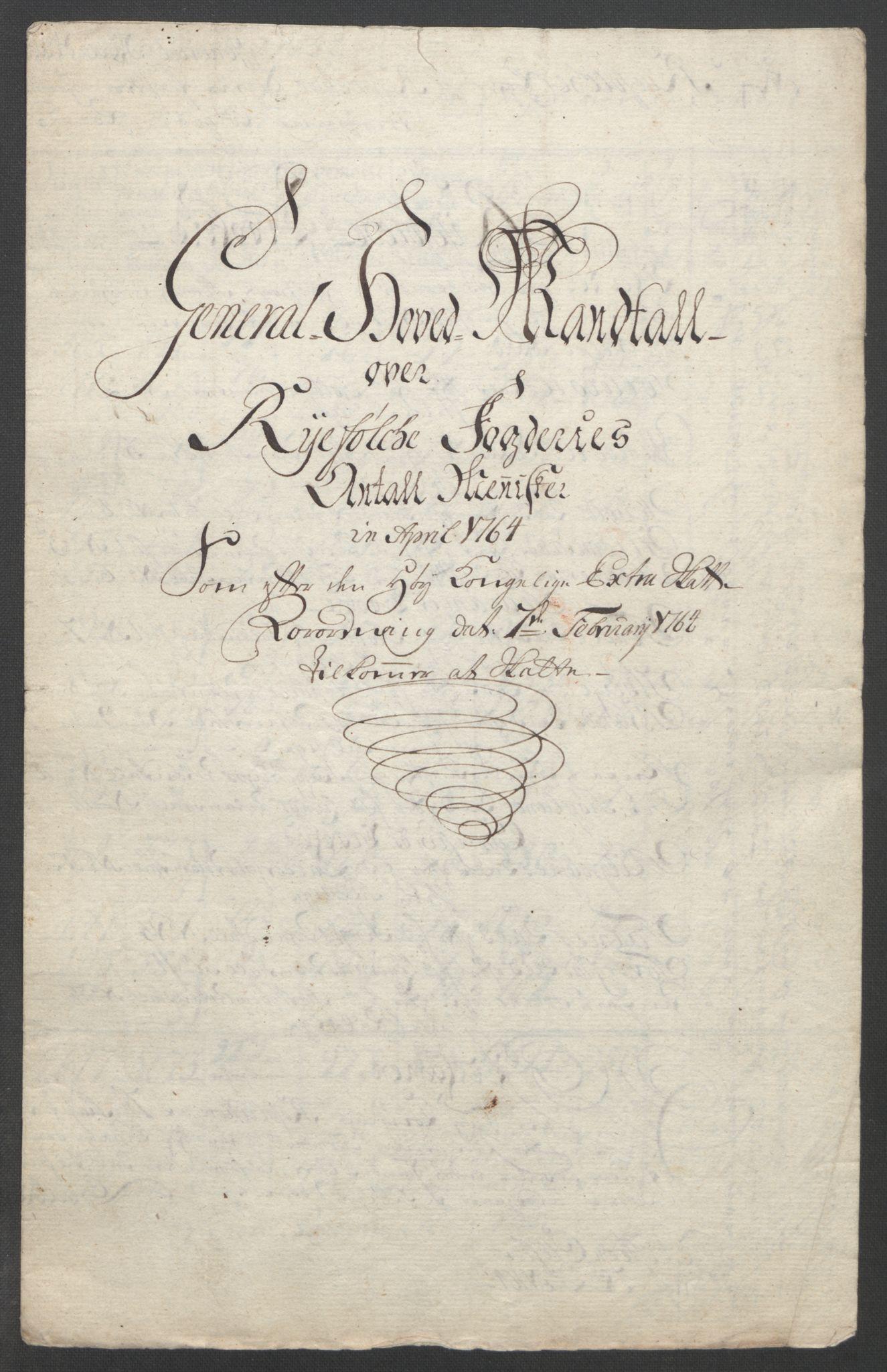 RA, Rentekammeret inntil 1814, Reviderte regnskaper, Fogderegnskap, R47/L2972: Ekstraskatten Ryfylke, 1762-1780, s. 32