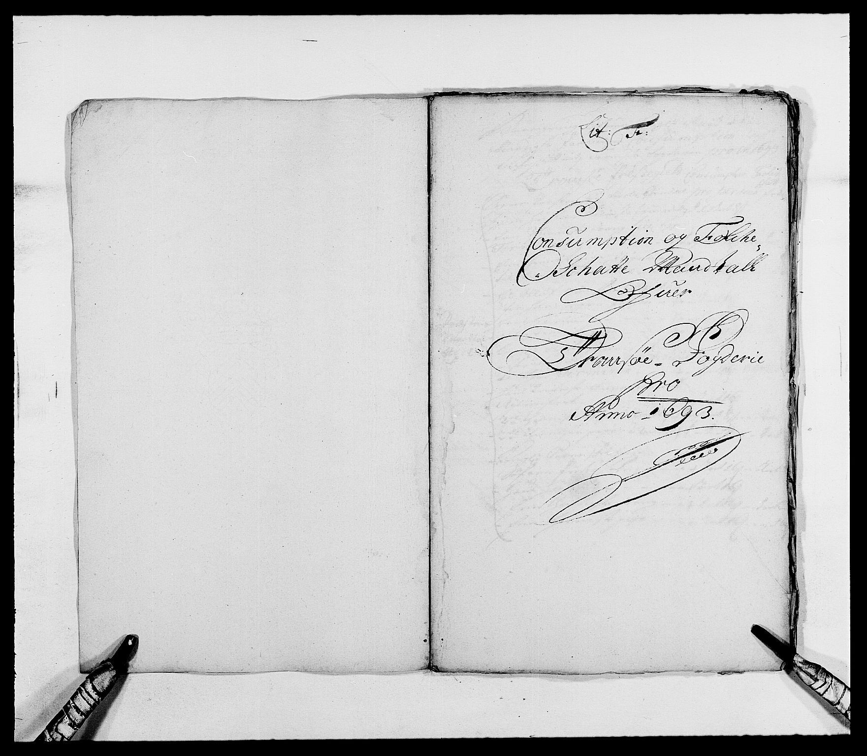 RA, Rentekammeret inntil 1814, Reviderte regnskaper, Fogderegnskap, R68/L4751: Fogderegnskap Senja og Troms, 1690-1693, s. 318