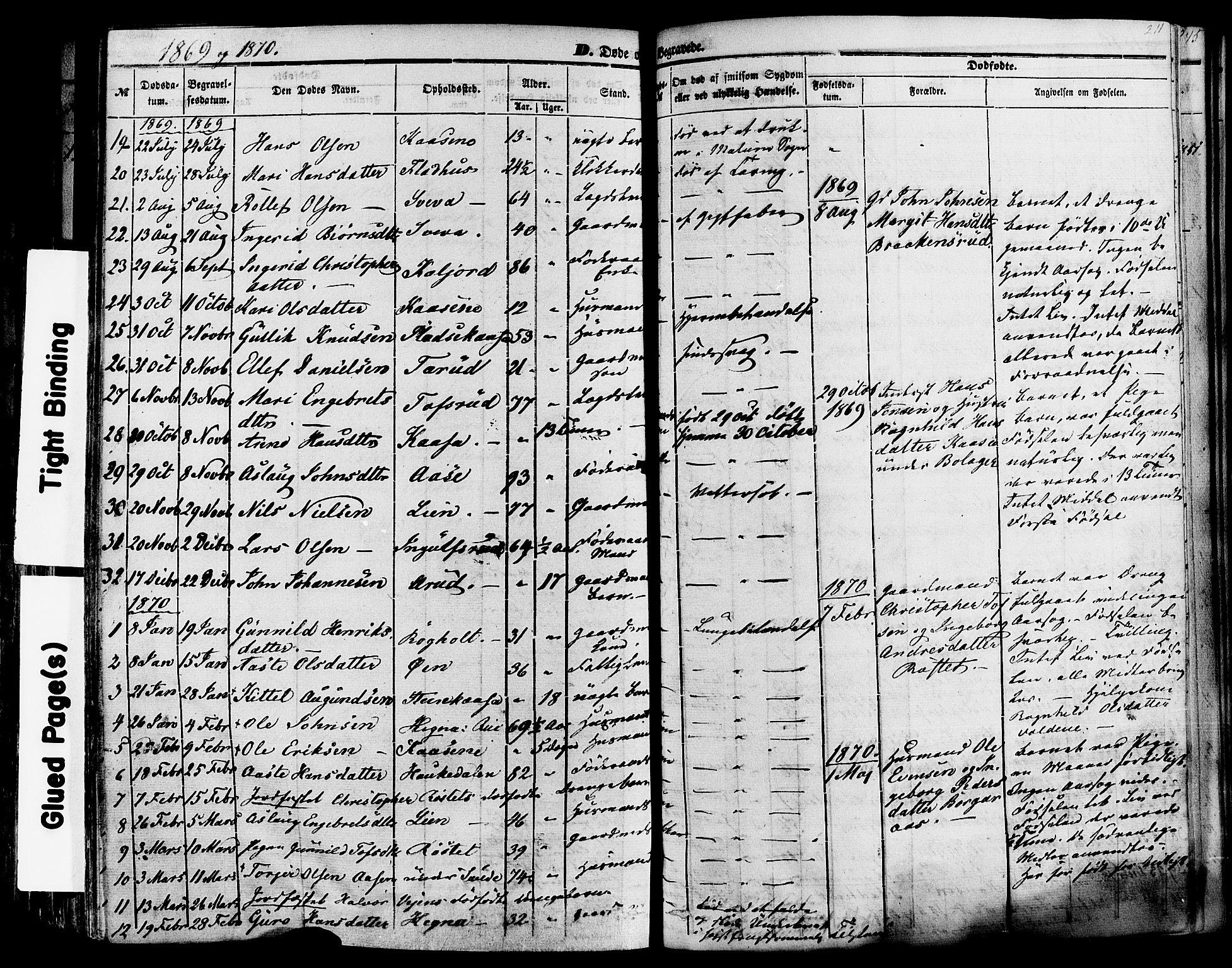 SAKO, Sauherad kirkebøker, F/Fa/L0007: Ministerialbok nr. I 7, 1851-1873, s. 211