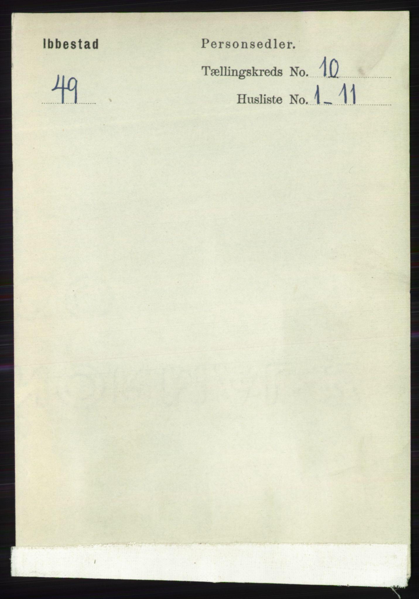 RA, Folketelling 1891 for 1917 Ibestad herred, 1891, s. 6837