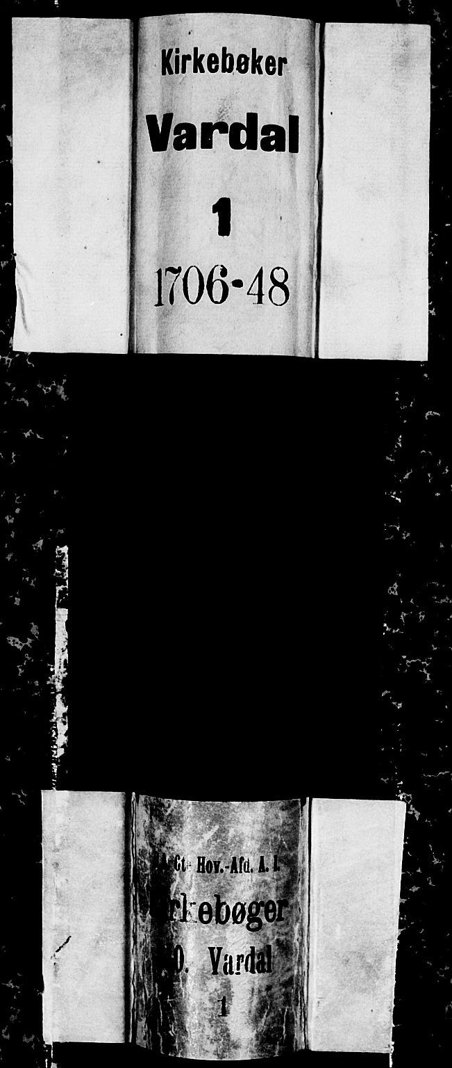 SAH, Vardal prestekontor, H/Ha/Haa/L0001: Ministerialbok nr. 1, 1706-1748