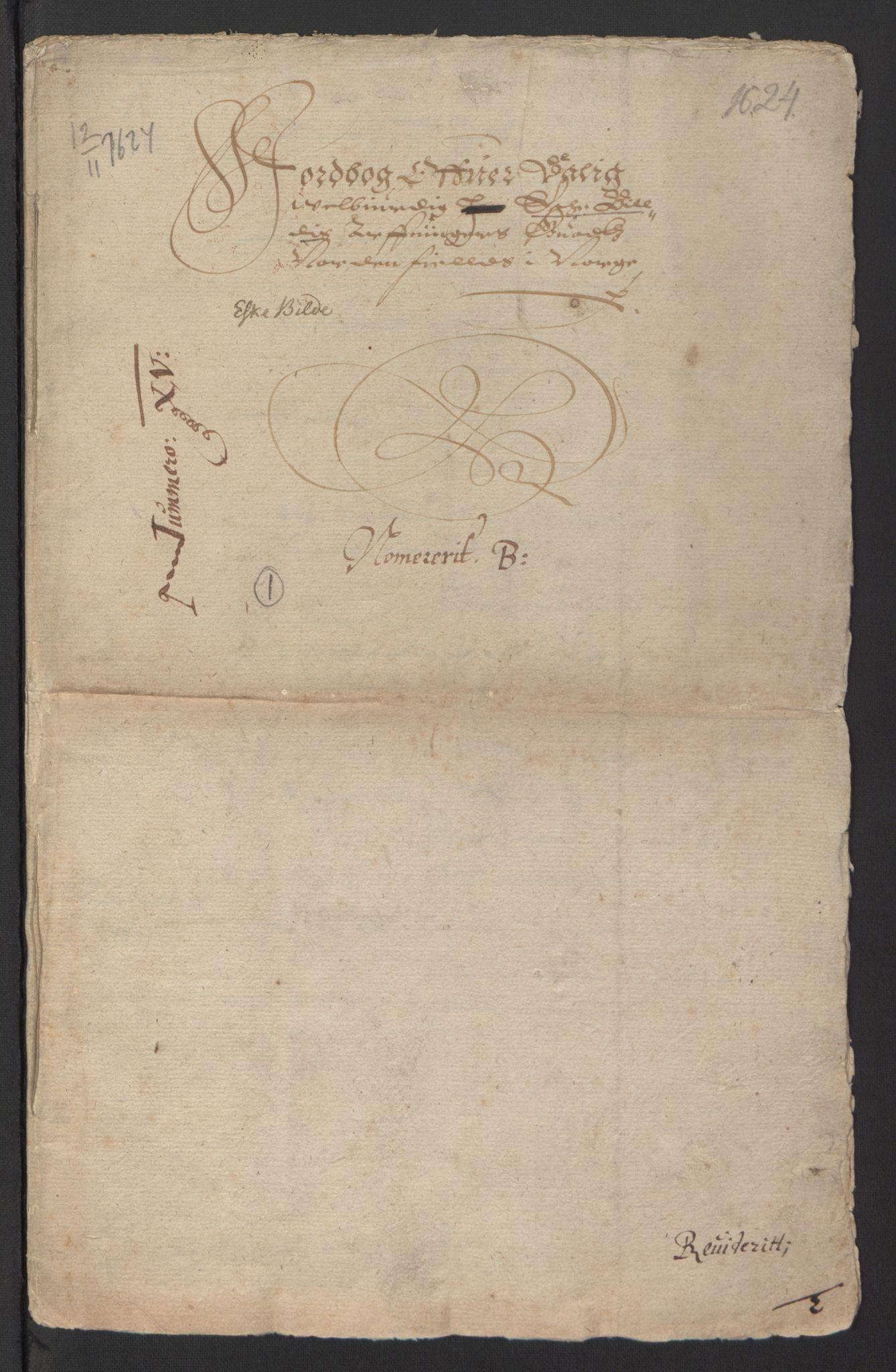 RA, Stattholderembetet 1572-1771, Ek/L0007: Jordebøker til utlikning av rosstjeneste 1624-1626:, 1624-1625, s. 330