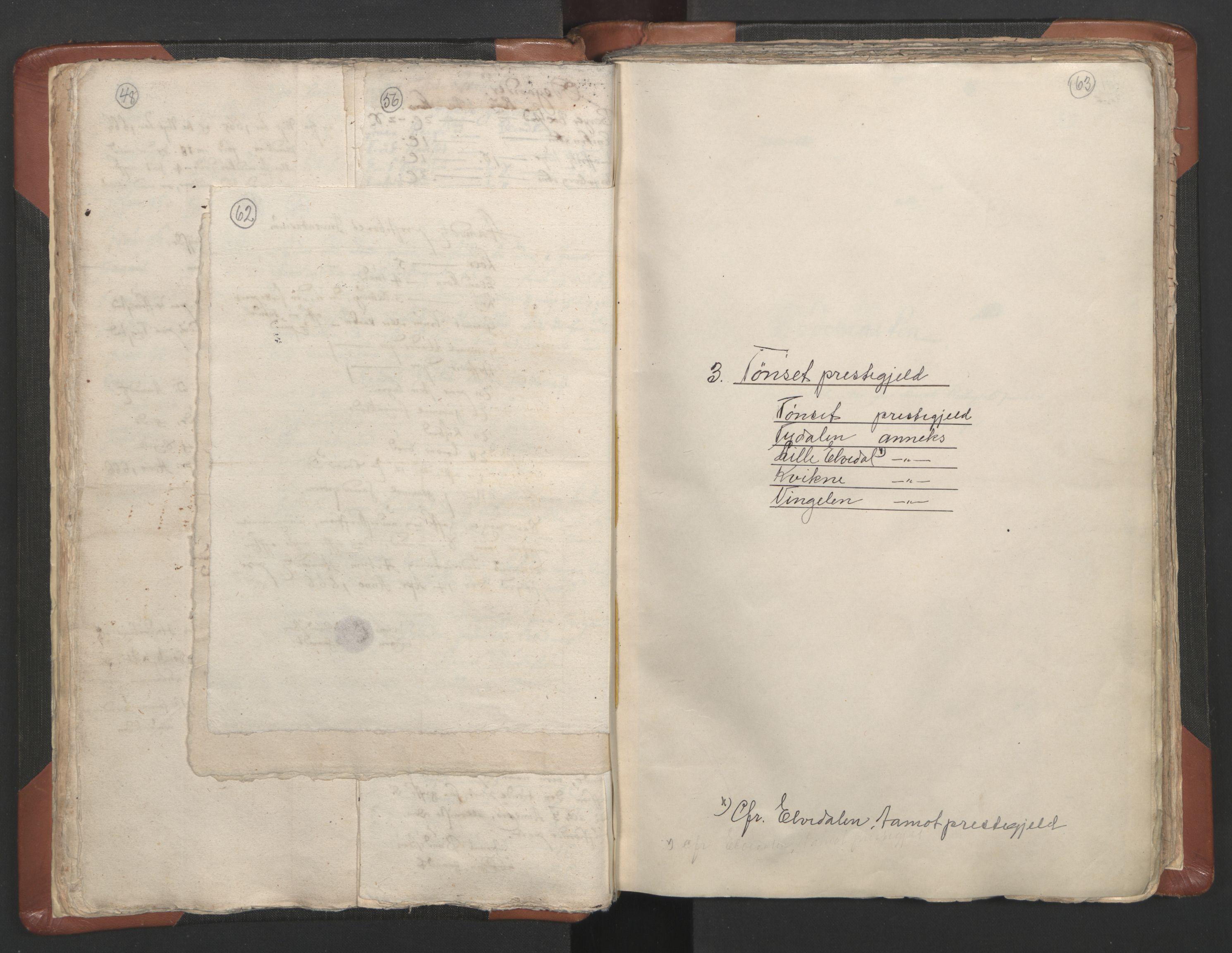 RA, Sogneprestenes manntall 1664-1666, nr. 5: Hedmark prosti, 1664-1666, s. 62-63