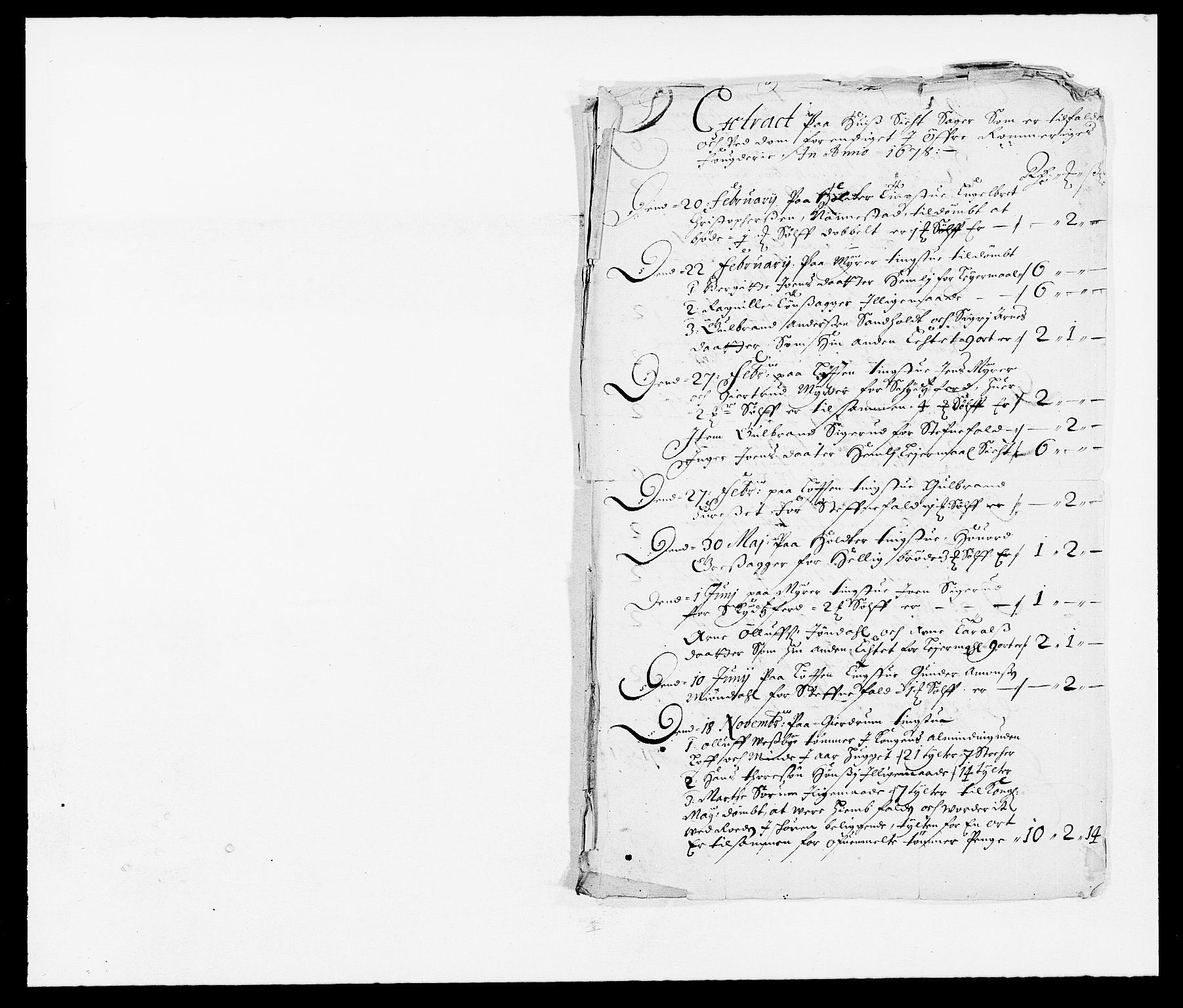 RA, Rentekammeret inntil 1814, Reviderte regnskaper, Fogderegnskap, R12/L0693: Fogderegnskap Øvre Romerike, 1678-1679, s. 142