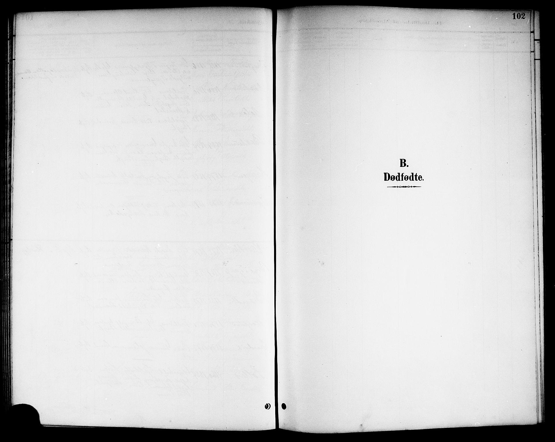 SAKO, Kviteseid kirkebøker, G/Ga/L0002: Klokkerbok nr. I 2, 1893-1918, s. 102