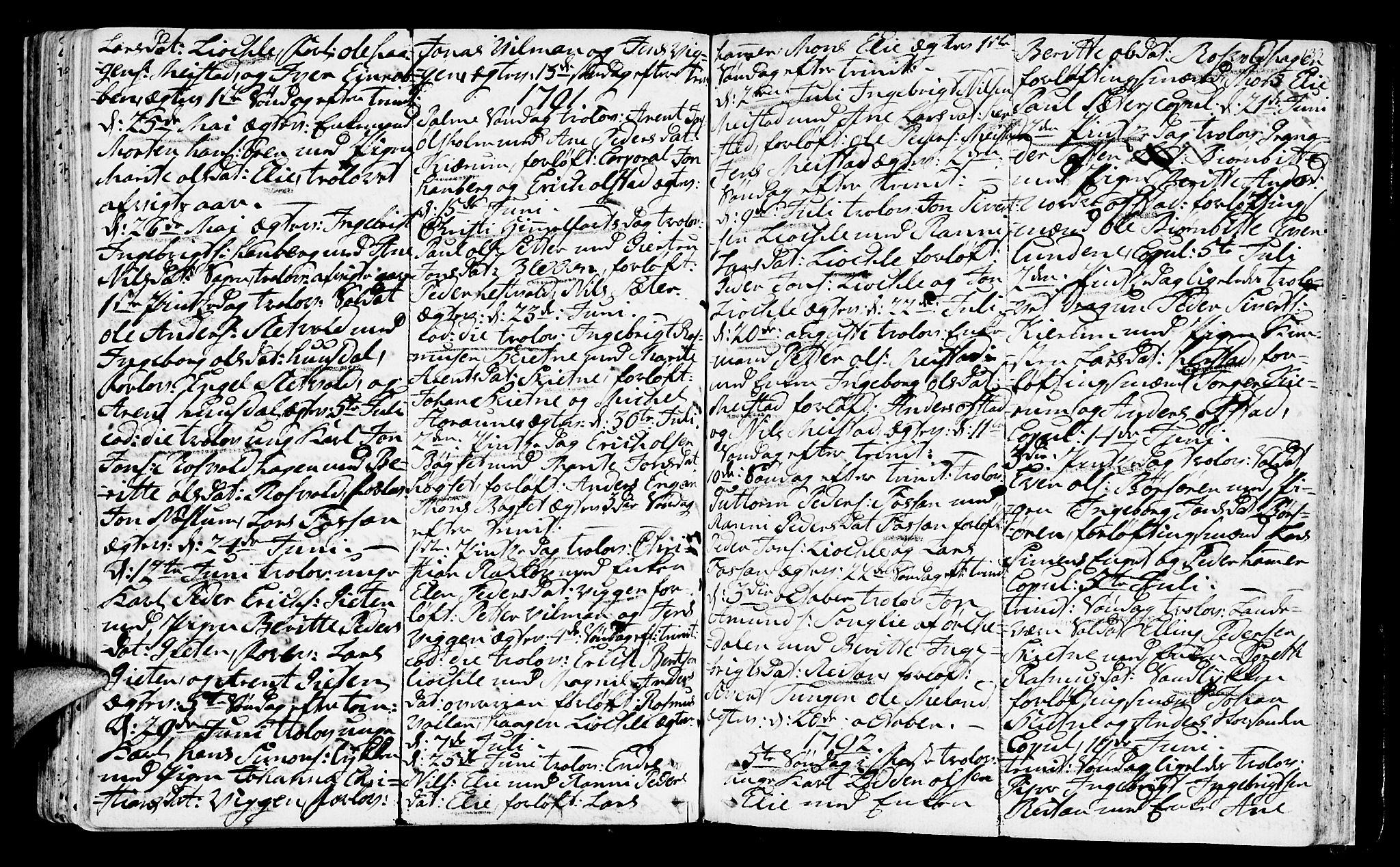 SAT, Ministerialprotokoller, klokkerbøker og fødselsregistre - Sør-Trøndelag, 665/L0768: Ministerialbok nr. 665A03, 1754-1803, s. 133