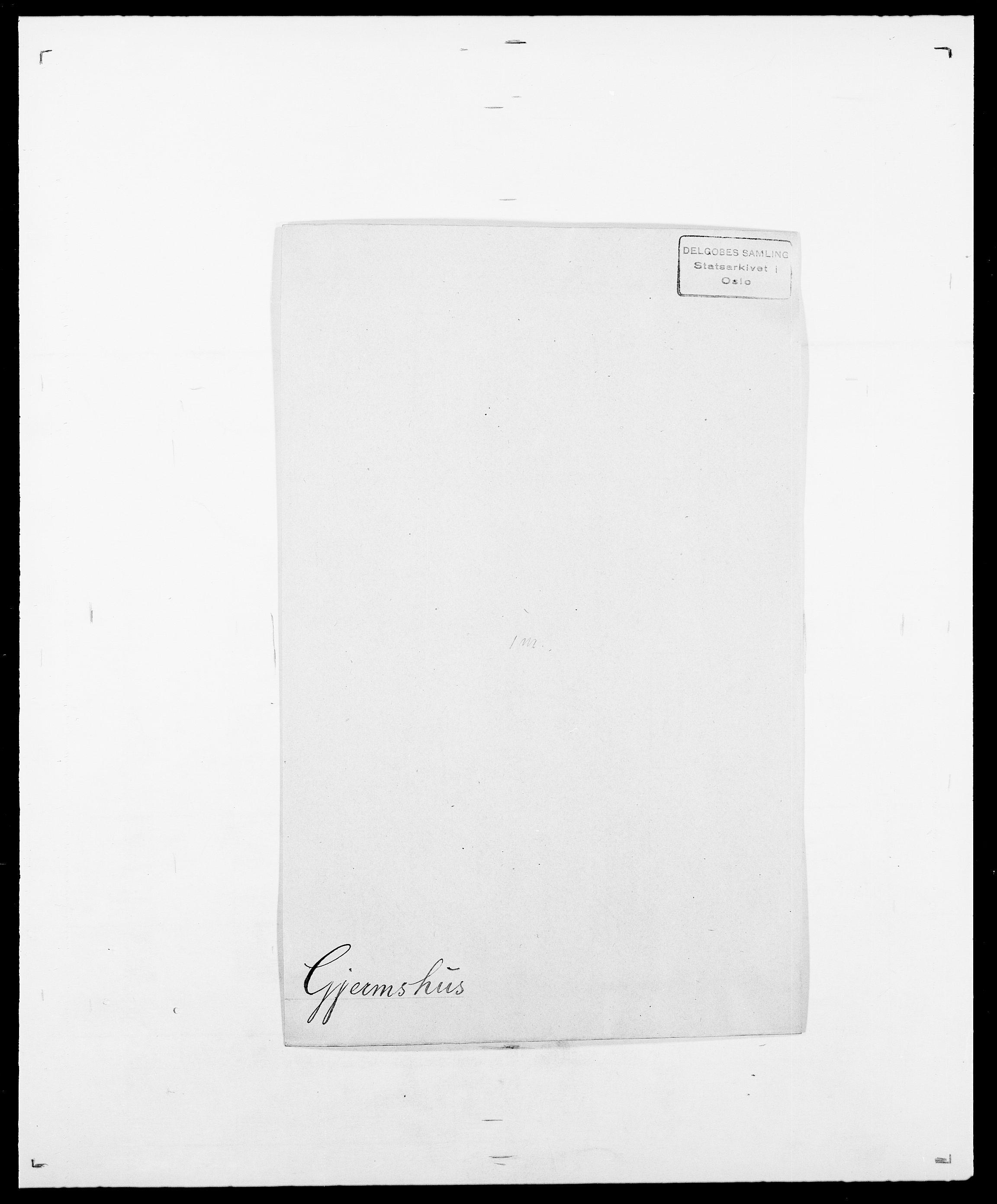 SAO, Delgobe, Charles Antoine - samling, D/Da/L0014: Giebdhausen - Grip, s. 144