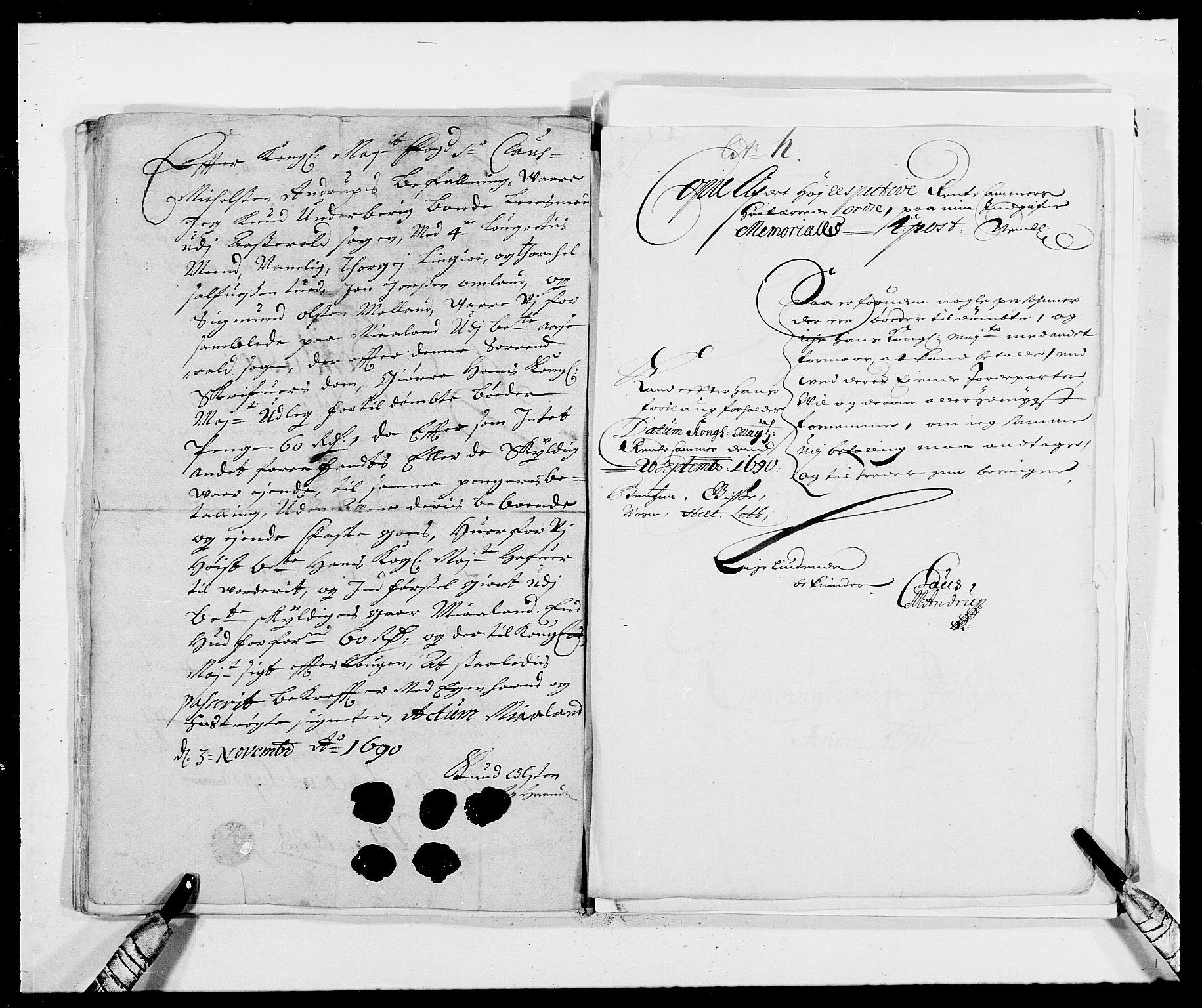 RA, Rentekammeret inntil 1814, Reviderte regnskaper, Fogderegnskap, R40/L2442: Fogderegnskap Råbyggelag, 1689-1690, s. 165