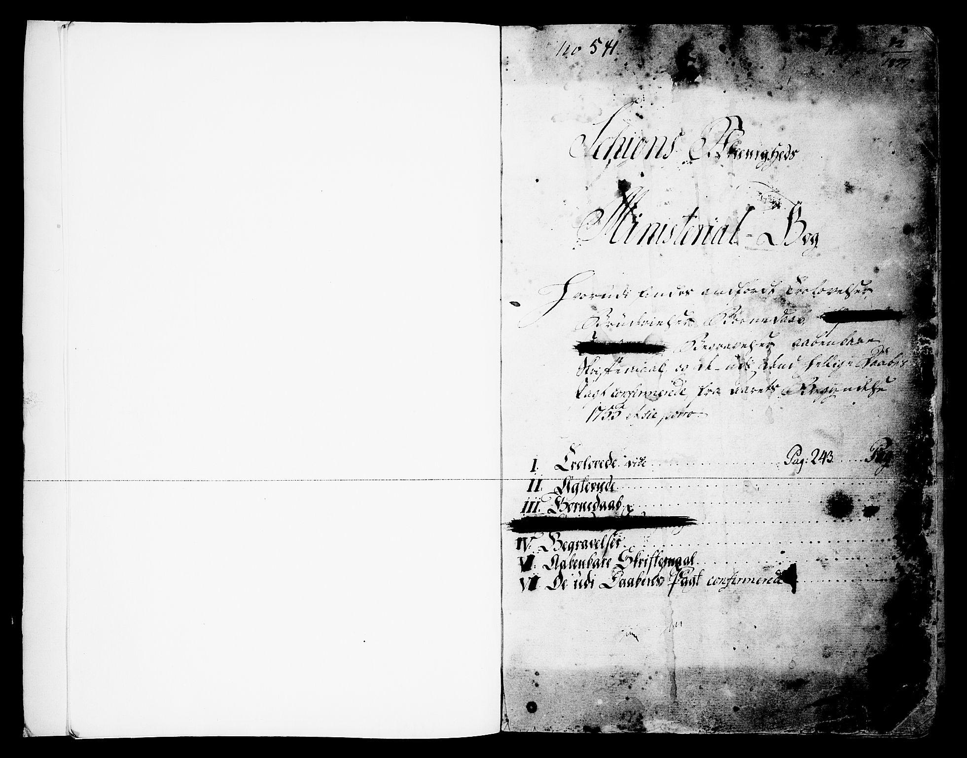 SAKO, Skien kirkebøker, F/Fa/L0003: Ministerialbok nr. 3, 1755-1791
