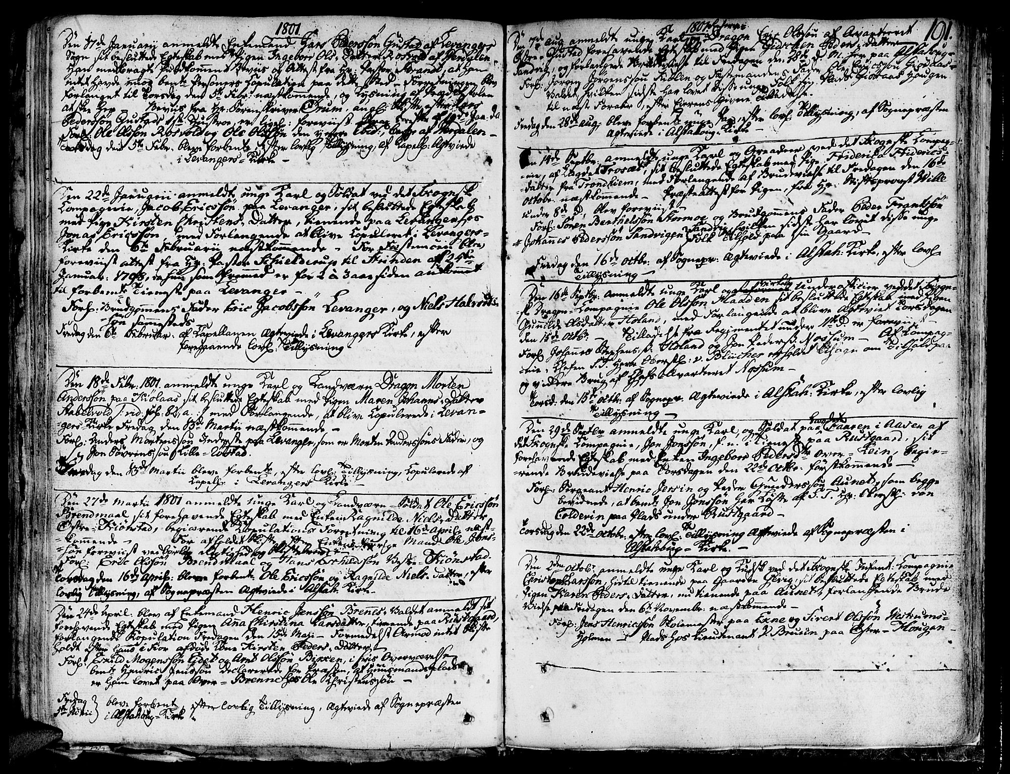 SAT, Ministerialprotokoller, klokkerbøker og fødselsregistre - Nord-Trøndelag, 717/L0142: Ministerialbok nr. 717A02 /1, 1783-1809, s. 191