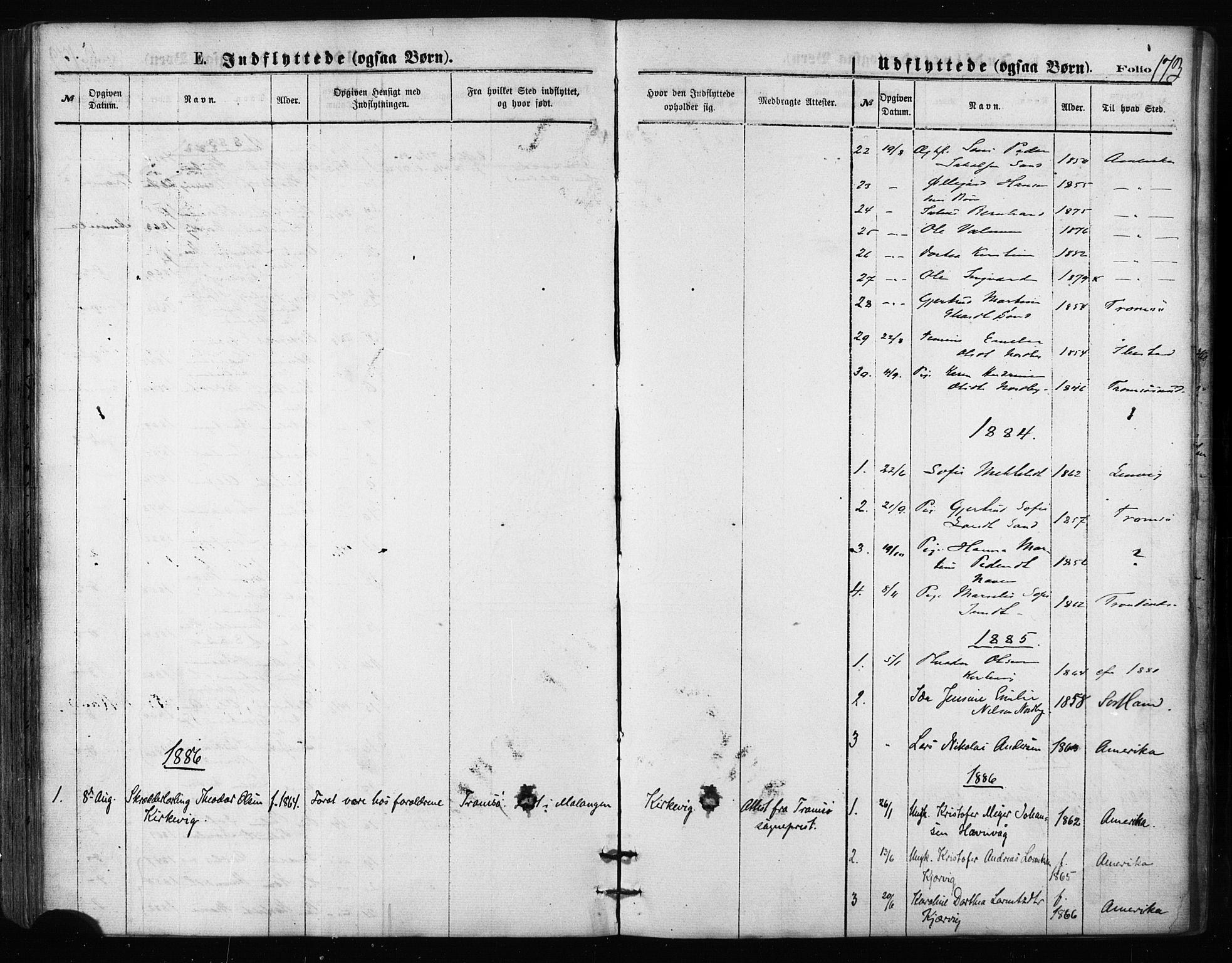 SATØ, Balsfjord sokneprestembete, Ministerialbok nr. 2, 1871-1886, s. 173