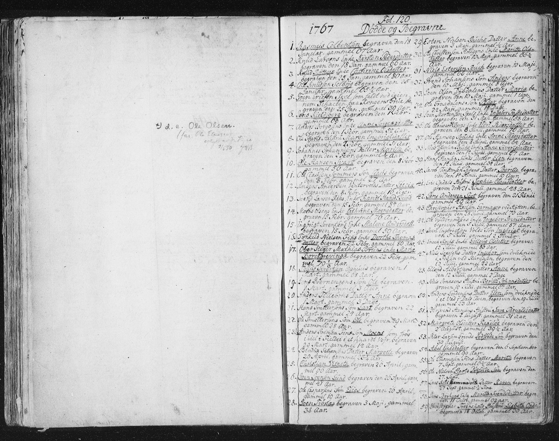 SAT, Ministerialprotokoller, klokkerbøker og fødselsregistre - Sør-Trøndelag, 681/L0926: Ministerialbok nr. 681A04, 1767-1797, s. 120